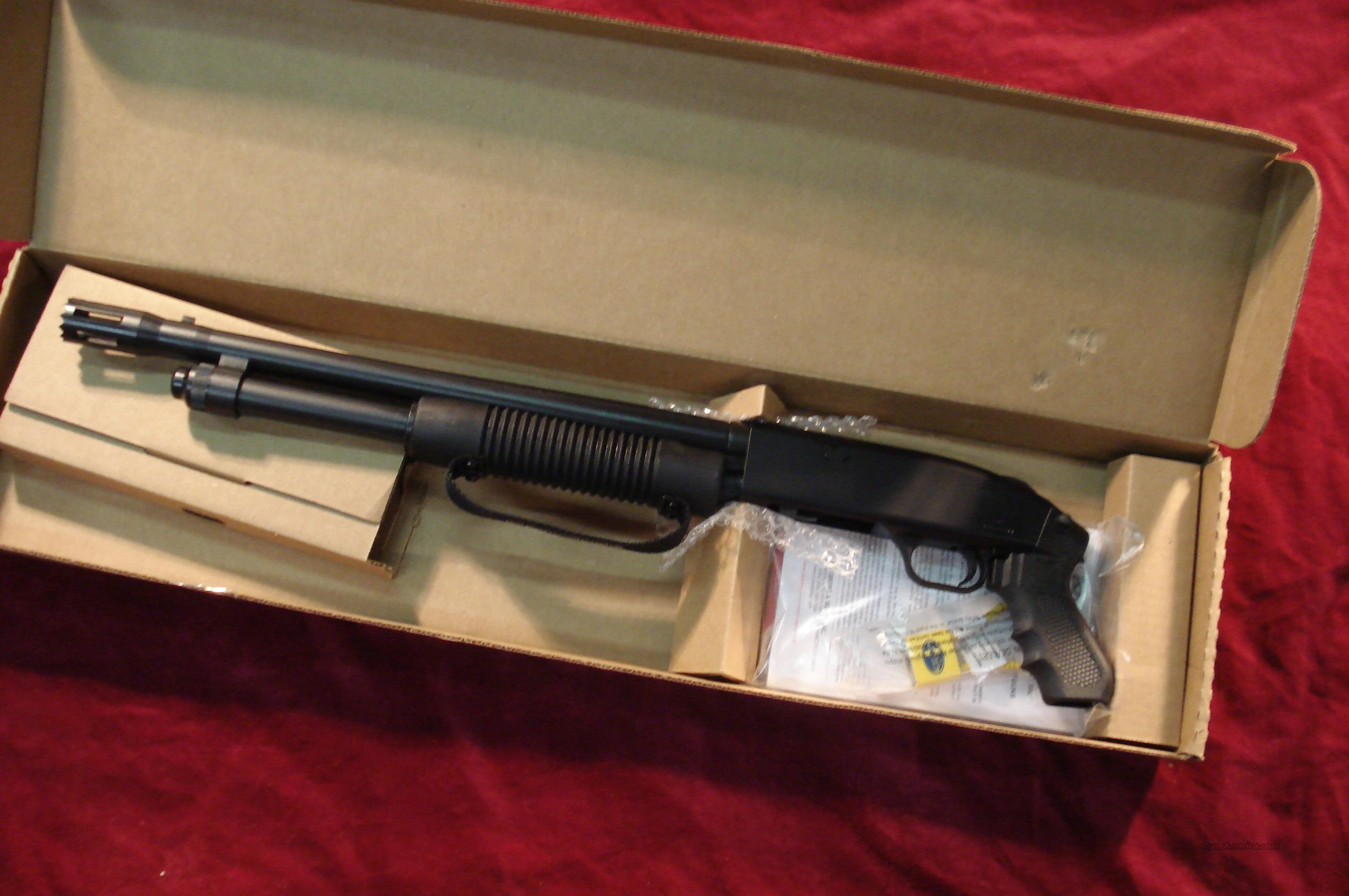 MOSSBERG 500 TACTICAL BREACHER 12G PISTOL GRIP SHOTGUN NEW  Guns > Shotguns > Mossberg Shotguns > Pump > Tactical