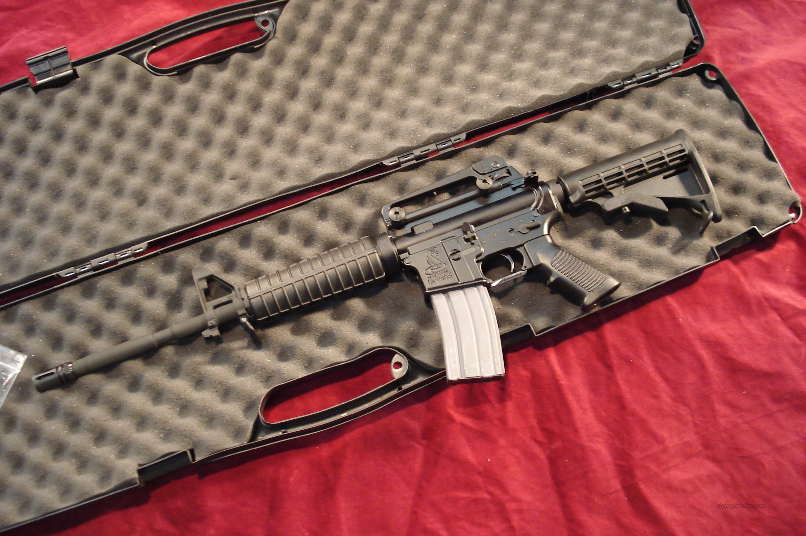 BUSHMASTER M4A3 PATROLMAN'S CARBINE 223CAL. NEW IN THE BOX  Guns > Rifles > Bushmaster Rifles > Complete Rifles