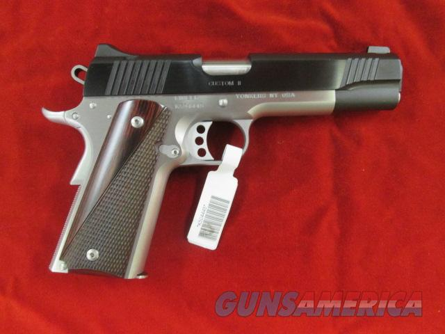 KIMBER CUSTOM II TWO TONE W/ WOOD GRIPS 45ACP NEW  Guns > Pistols > Kimber of America Pistols