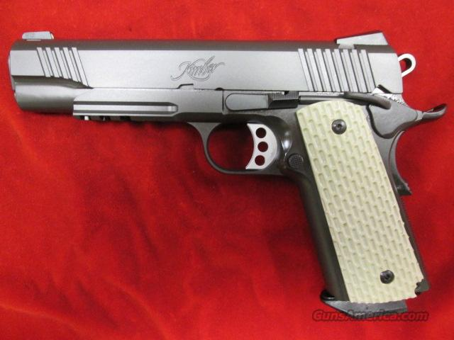 KIMBER WARRIOR 45ACP W/TAC RAIL AND NIGHT SIGHTS NEW  Guns > Pistols > Kimber of America Pistols
