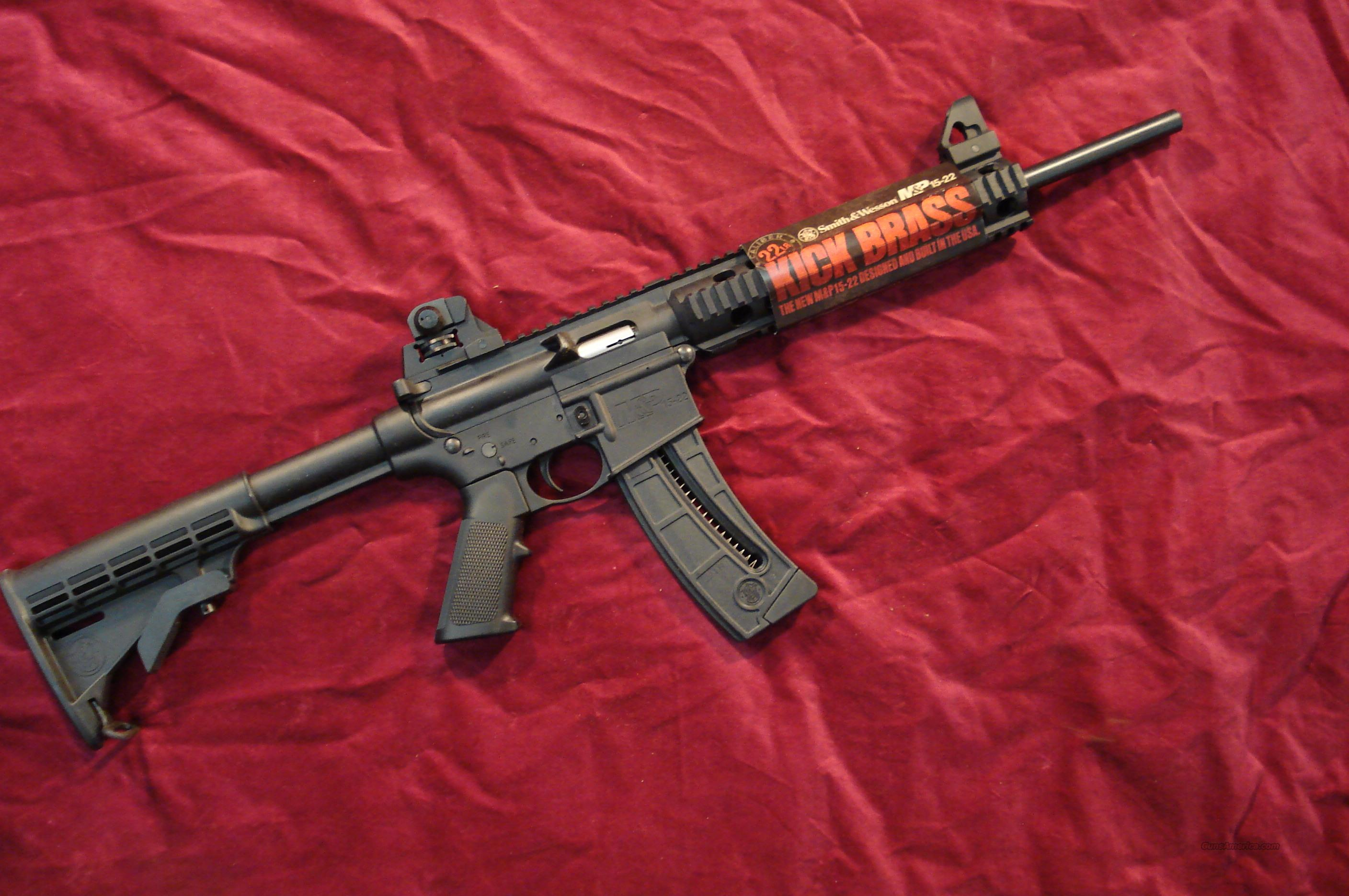 SMITH & WESSON M&P15-22 CALIFORNIA MODEL NEW  Guns > Rifles > Smith & Wesson Rifles > M&P