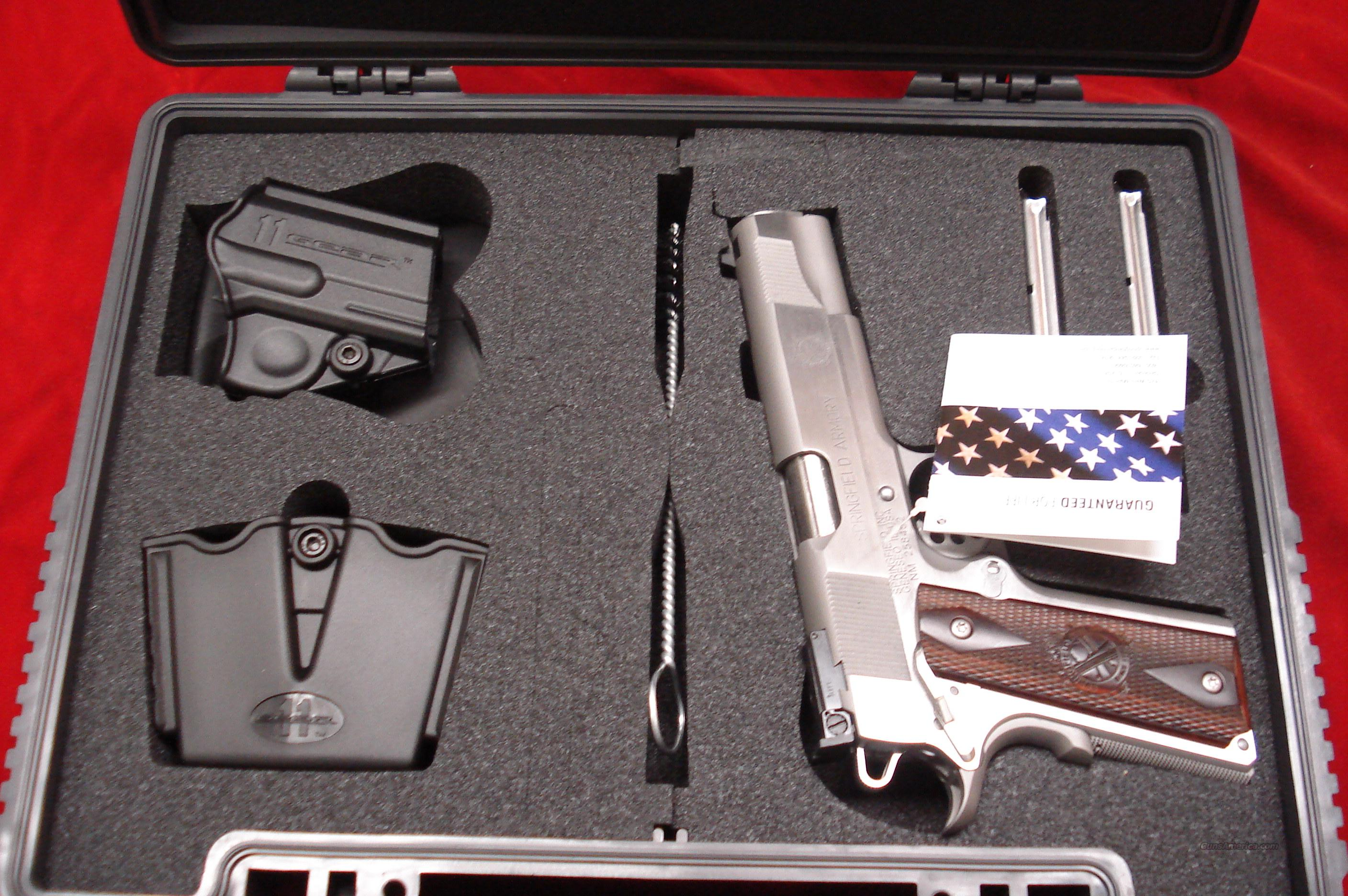 SPRINGFIELD ARMORY STAINLESS 9MM LOADED ADJUSTABLE SIGHTS (PI9134LP) NEW   Guns > Pistols > Springfield Armory Pistols > 1911 Type