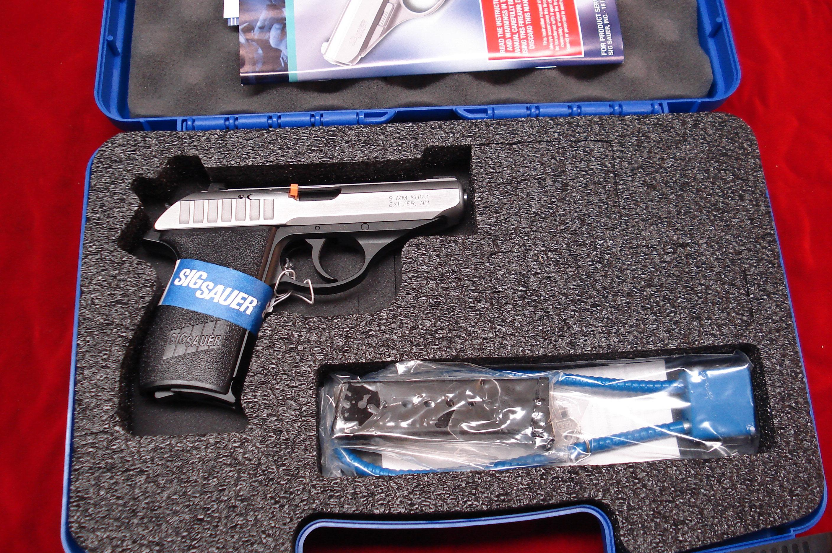SIG P232 STAINLESS DUO-TONE 380CAL. NIGHT SIGHTS NEW   Guns > Pistols > Sig - Sauer/Sigarms Pistols > Other
