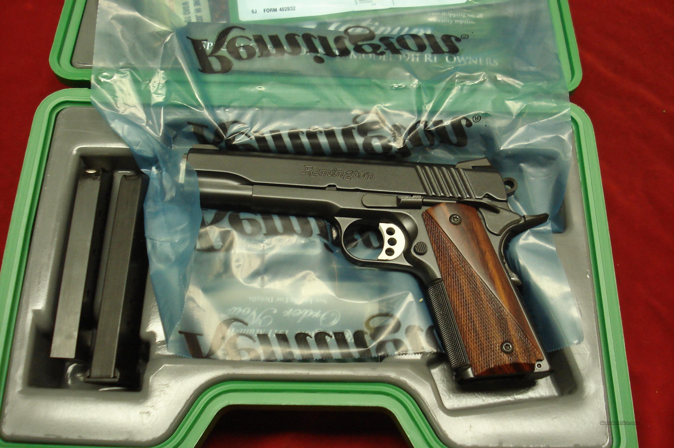 REMINGTON 1911 R1 CARRY 45ACP NEW   Guns > Pistols > Remington Pistols - Modern