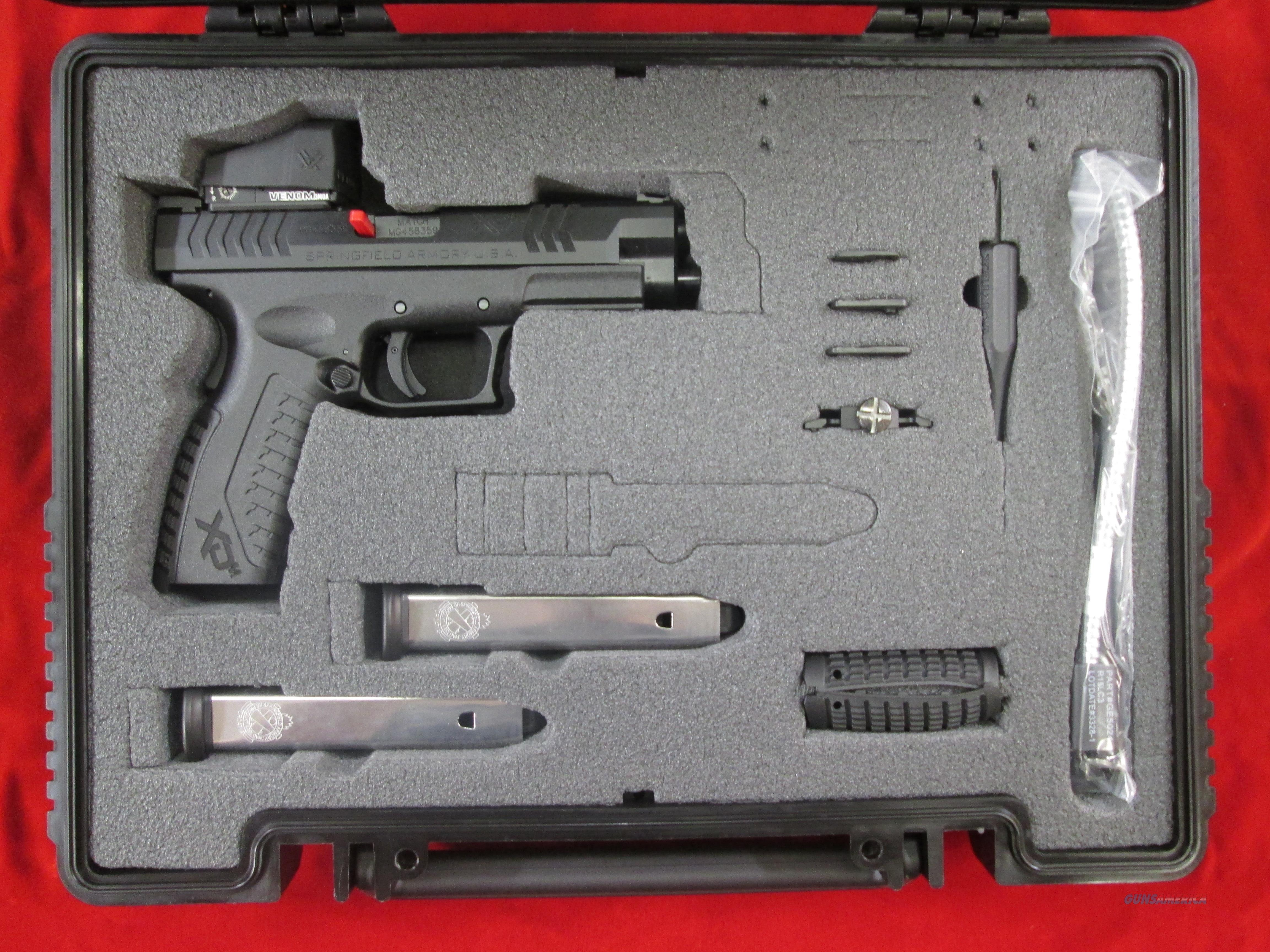 "SPRINGFIELD ARMORY XDM 9MM 4.5"" OPTICS READY W/ MOUNTED VORTEX VENOM SIGHT NEW   {{ FACTORY MAIL IN REBATE OFFER }}    Guns > Pistols > Springfield Armory Pistols > XD-M"