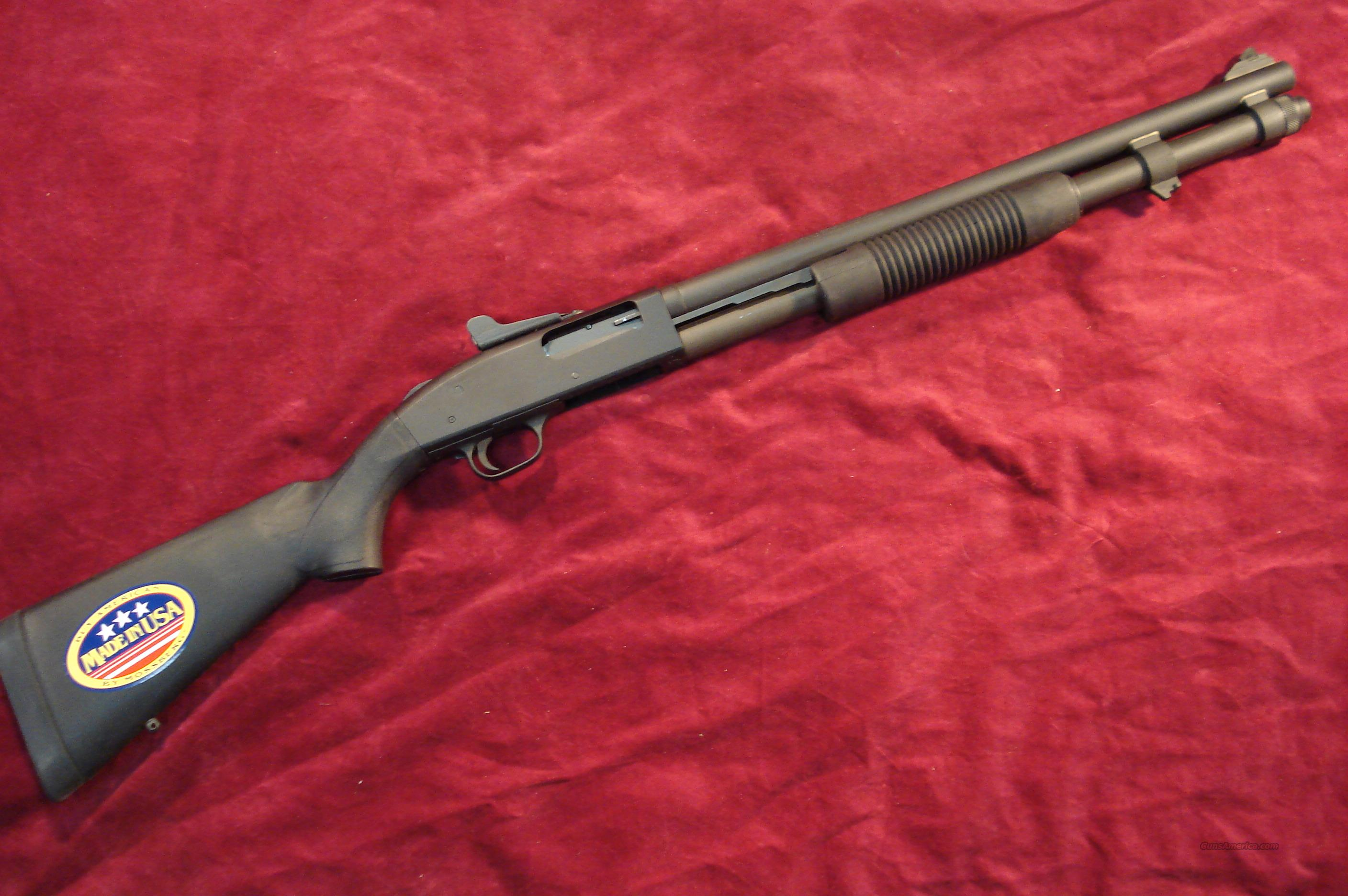 MOSSBERG 590A1 PERSUADER 12G PARKERIZED WITH GHOST RING SIGHTS NEW  Guns > Shotguns > Mossberg Shotguns > Pump > Tactical