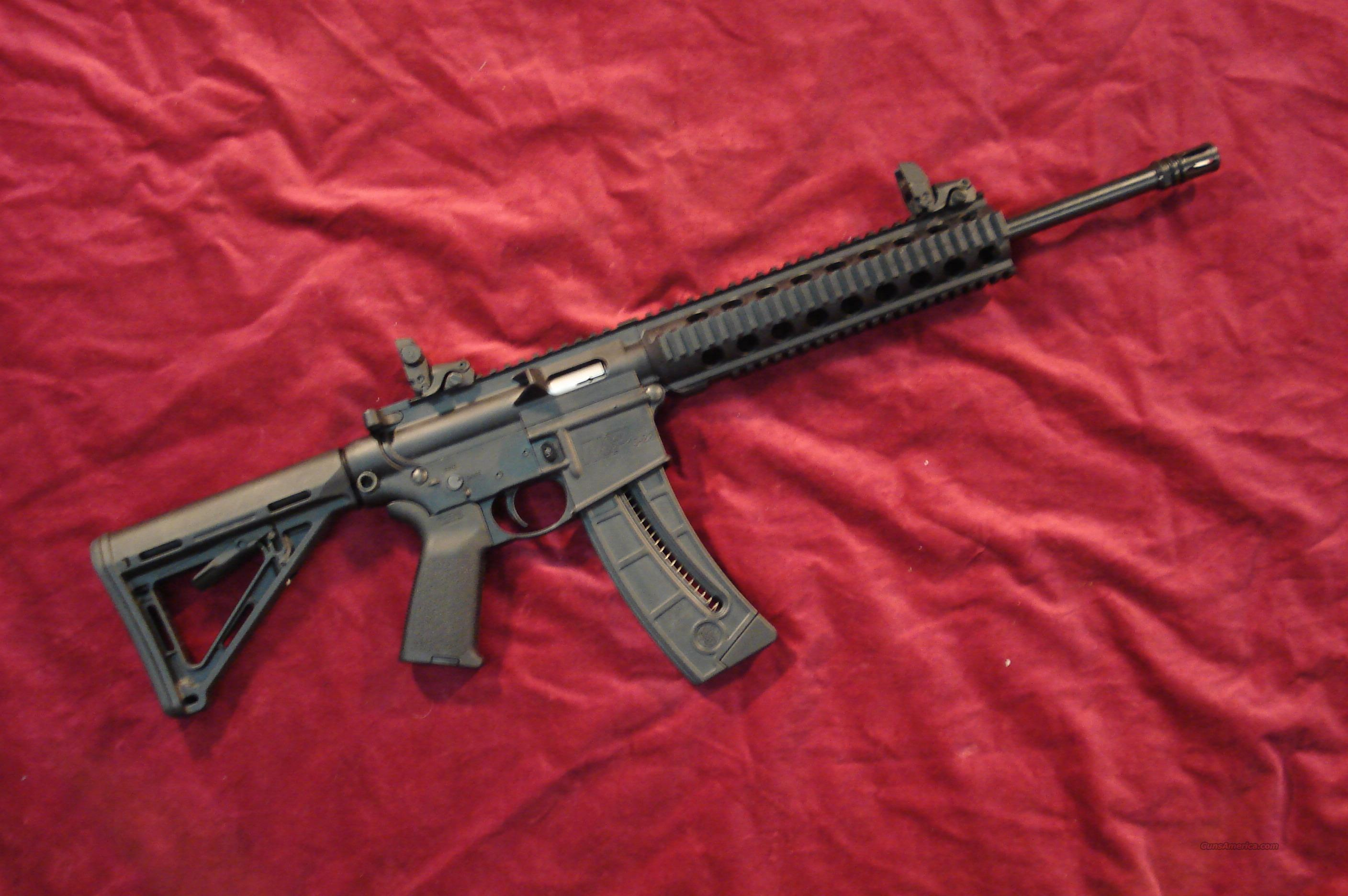SMITH & WESSON M&P15-22 M.O.E. ( MAGPUL ORIGINAL EQUIPTMENT )WITH COMP. NEW  Guns > Rifles > Smith & Wesson Rifles > M&P