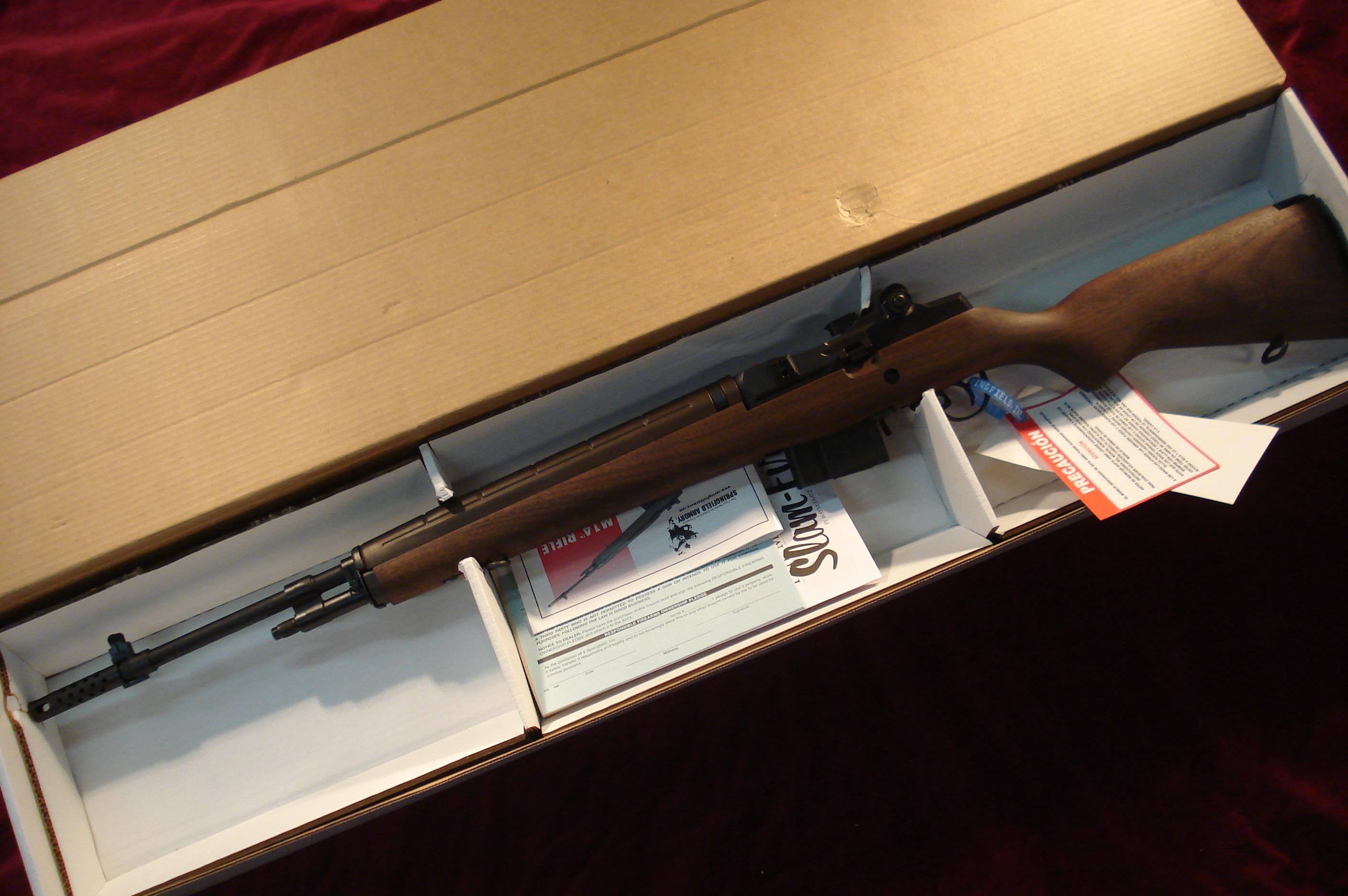SPRINGFIELD ARMORY M1A 308cal (MA9102CA) CALIFORNIA LEGAL MODEL NEW  Guns > Rifles > Springfield Armory Rifles > M1A/M14