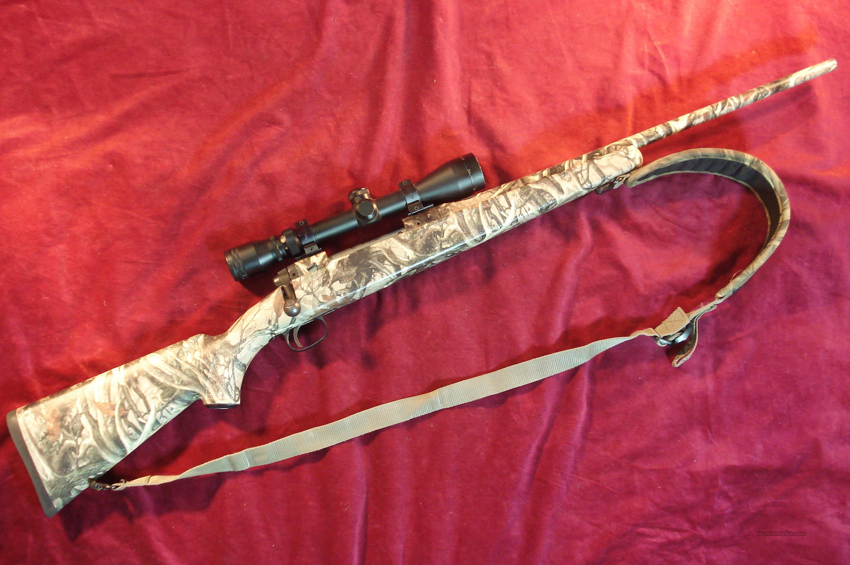 SAVAGE 110 30-06 CAMO STOCK W/SIMMONS 3X9 SCOPE USED  Guns > Rifles > Savage Rifles > Standard Bolt Action > Sporting