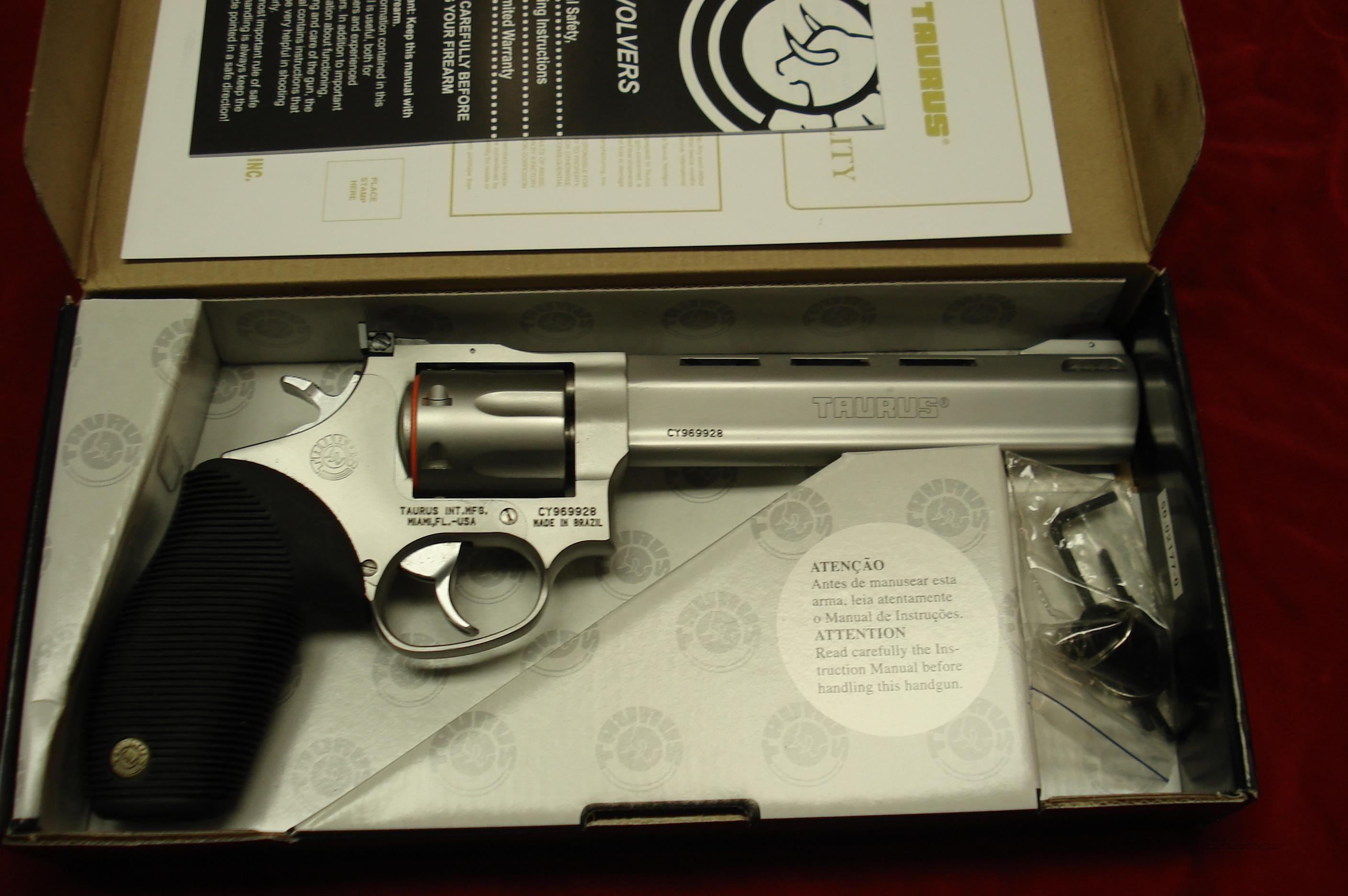 "TAURUS TRACKER MODEL 627CP 357MAG. STAINLESS PORTED 6"" NEW  Guns > Pistols > Taurus Pistols/Revolvers > Revolvers"
