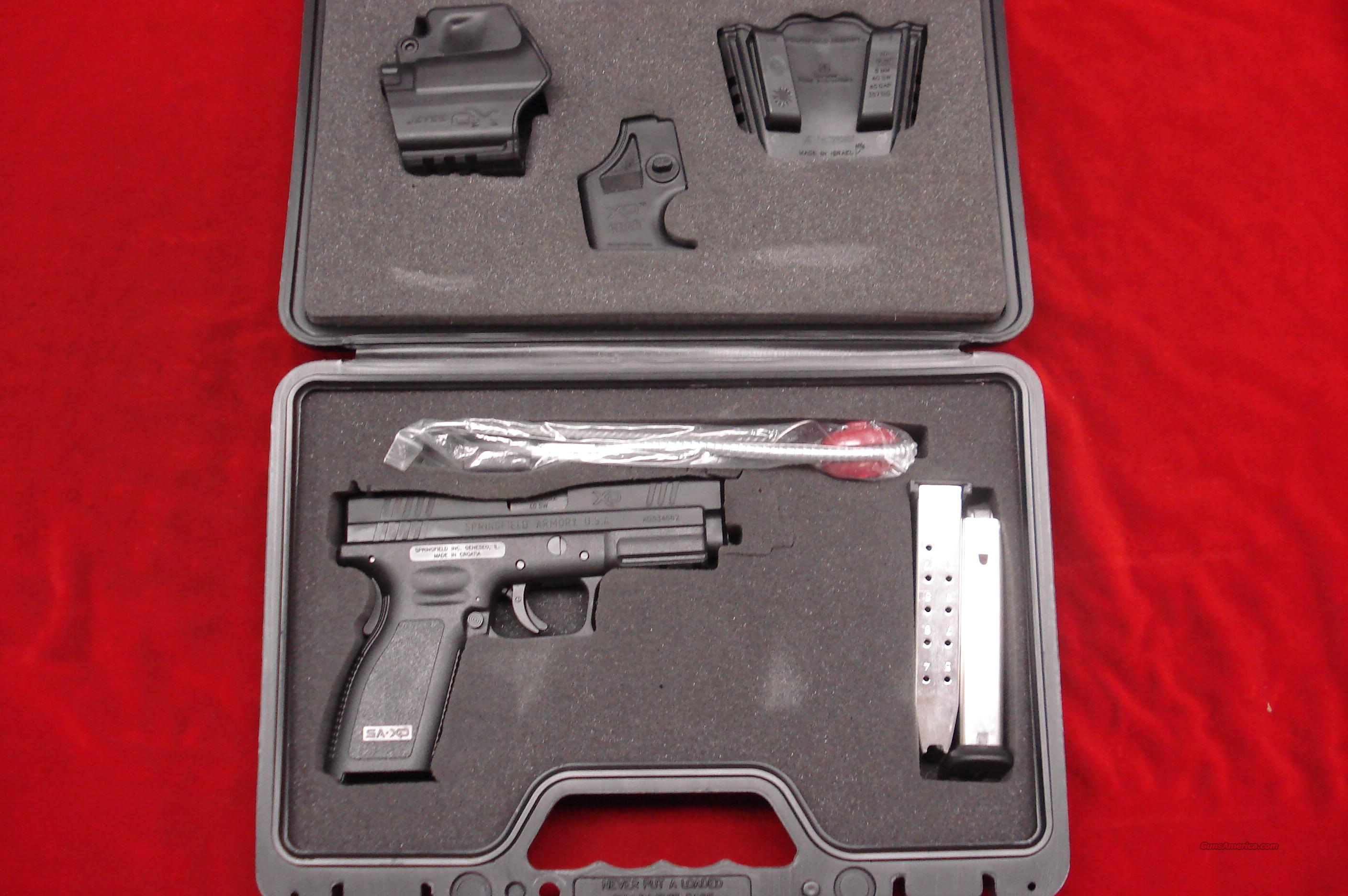 "SPRINGFIELD  XD40 4"" BLACK MATTE W/XD GEAR  GOOD CONDITION USED  Guns > Pistols > Springfield Armory Pistols > XD (eXtreme Duty)"
