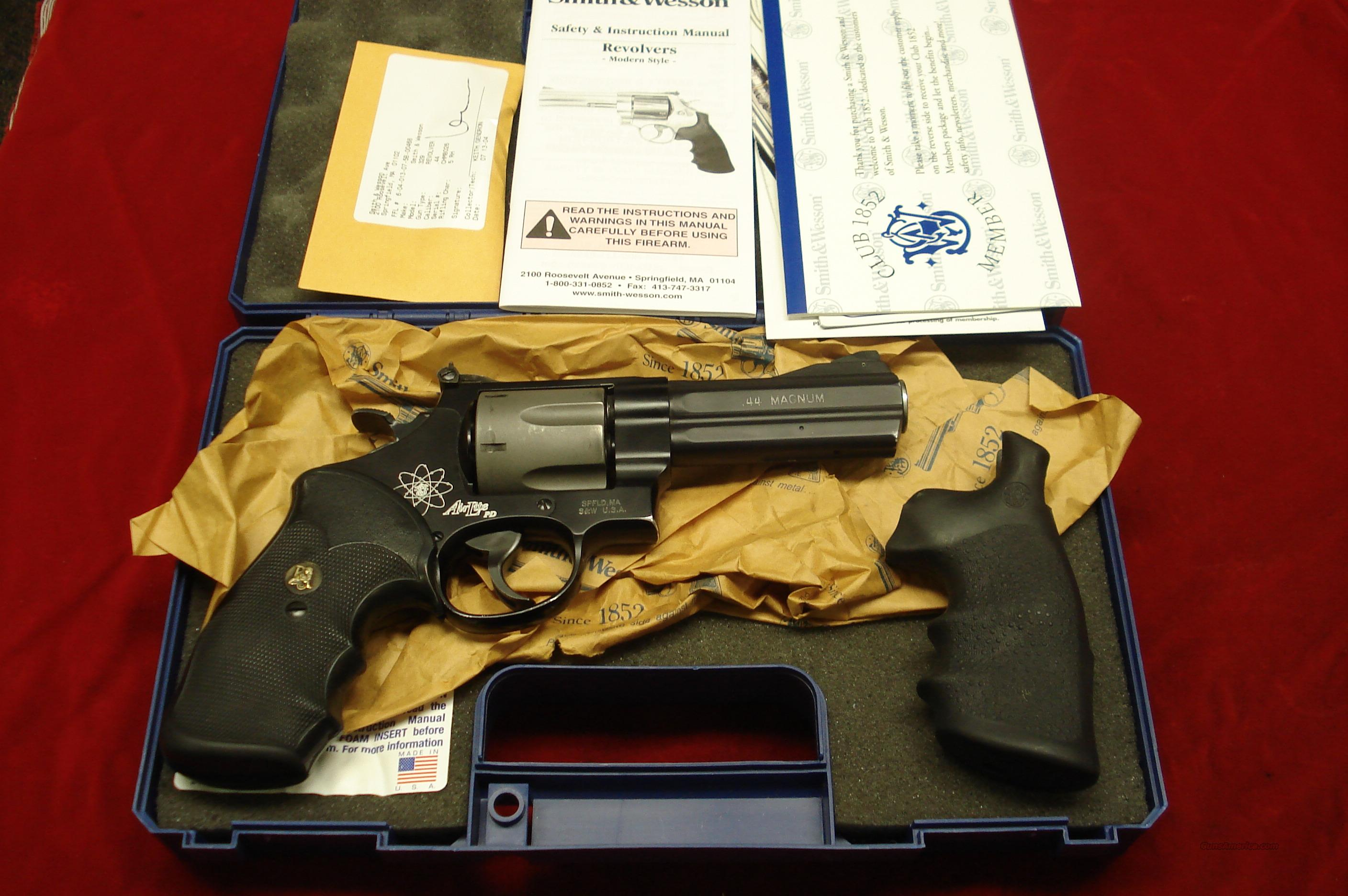 "SMITH AND WESSON MODEL 329 4"" .44 MAG. USED  Guns > Pistols > Smith & Wesson Revolvers > Full Frame Revolver"