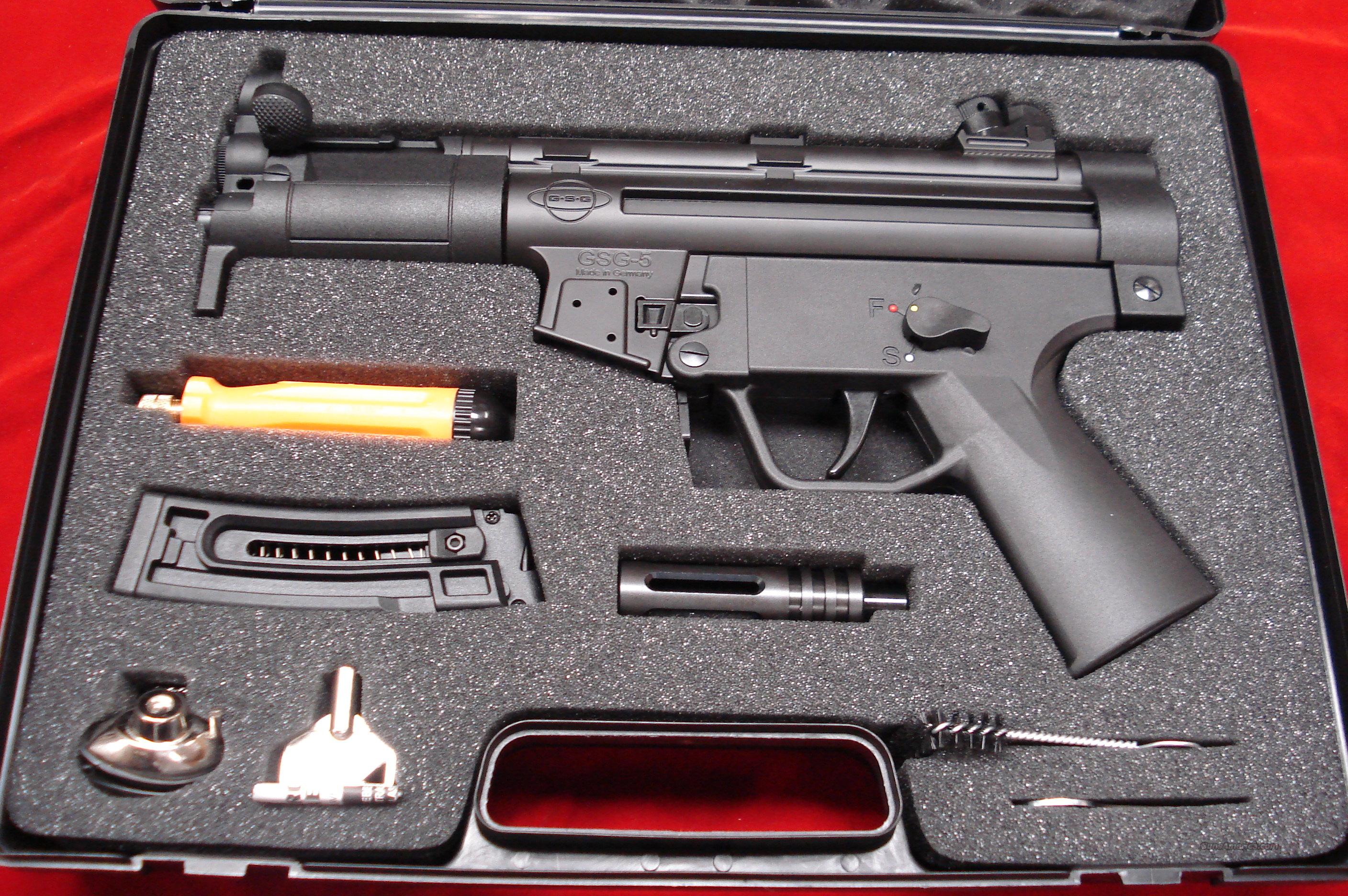 ATI MP5 GERMAN 22 CAL. PISTOL NEW!   Guns > Pistols > Heckler & Koch Pistols > Polymer Frame