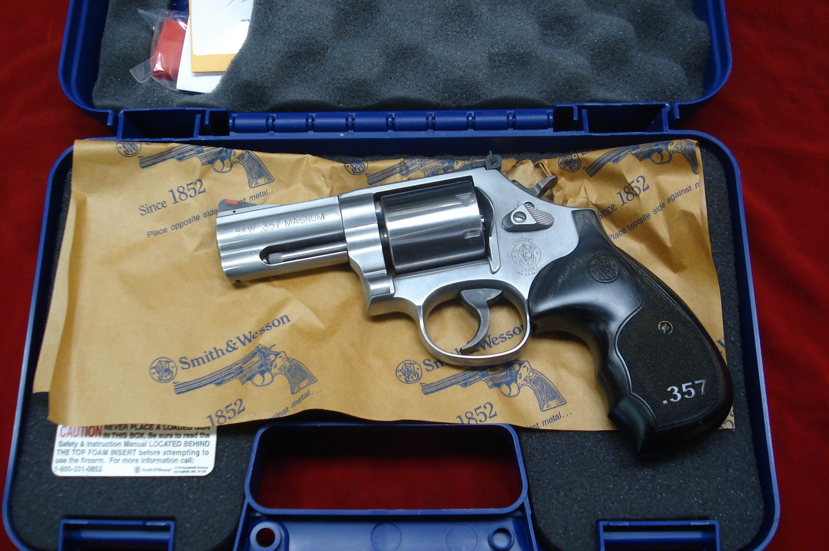 "SMITH AND WESSON MODEL 686 DELUXE 3"" 357MAG STAINLESS NEW  Guns > Pistols > Smith & Wesson Revolvers > Full Frame Revolver"
