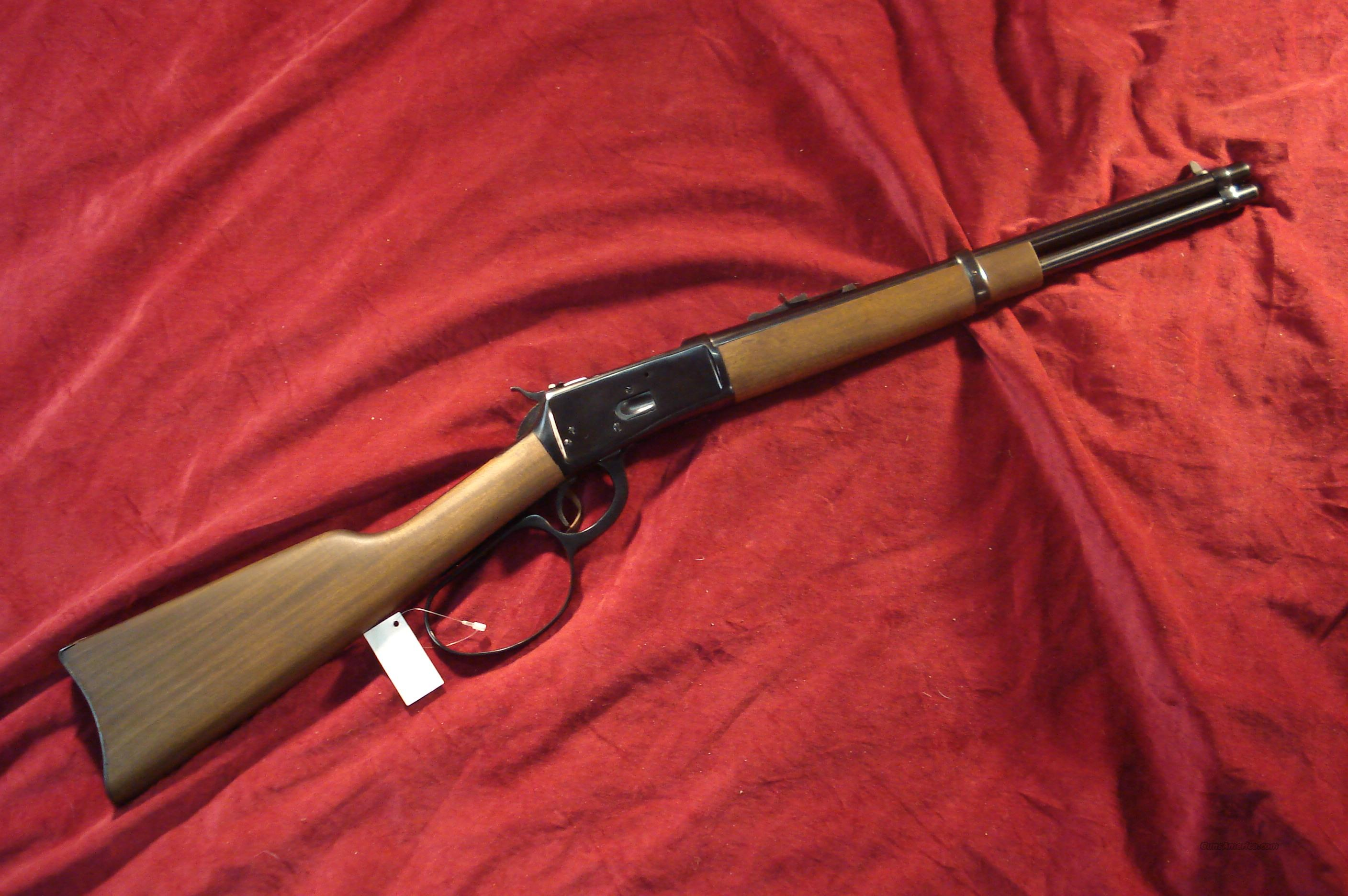 ROSSI 92 SADDLE RING CARBINE LARGE LOOP 357 CAL. NEW  Guns > Rifles > Rossi Rifles > Cowboy