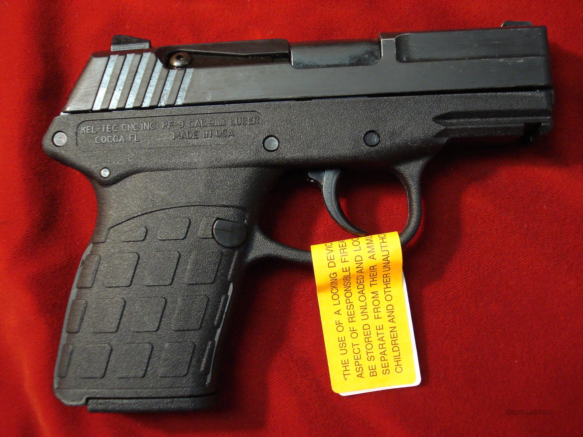 KEL-TEC PF-9 PARKERIZED NEW   Guns > Pistols > Kel-Tec Pistols > Pocket Pistol Type