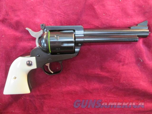 "RUGER BLACKHAWK FLAT TOP 45ACP/45LC 5.5"" BLUED  NEW (NVB-455X)  Guns > Pistols > Ruger Single Action Revolvers > Blackhawk Type"