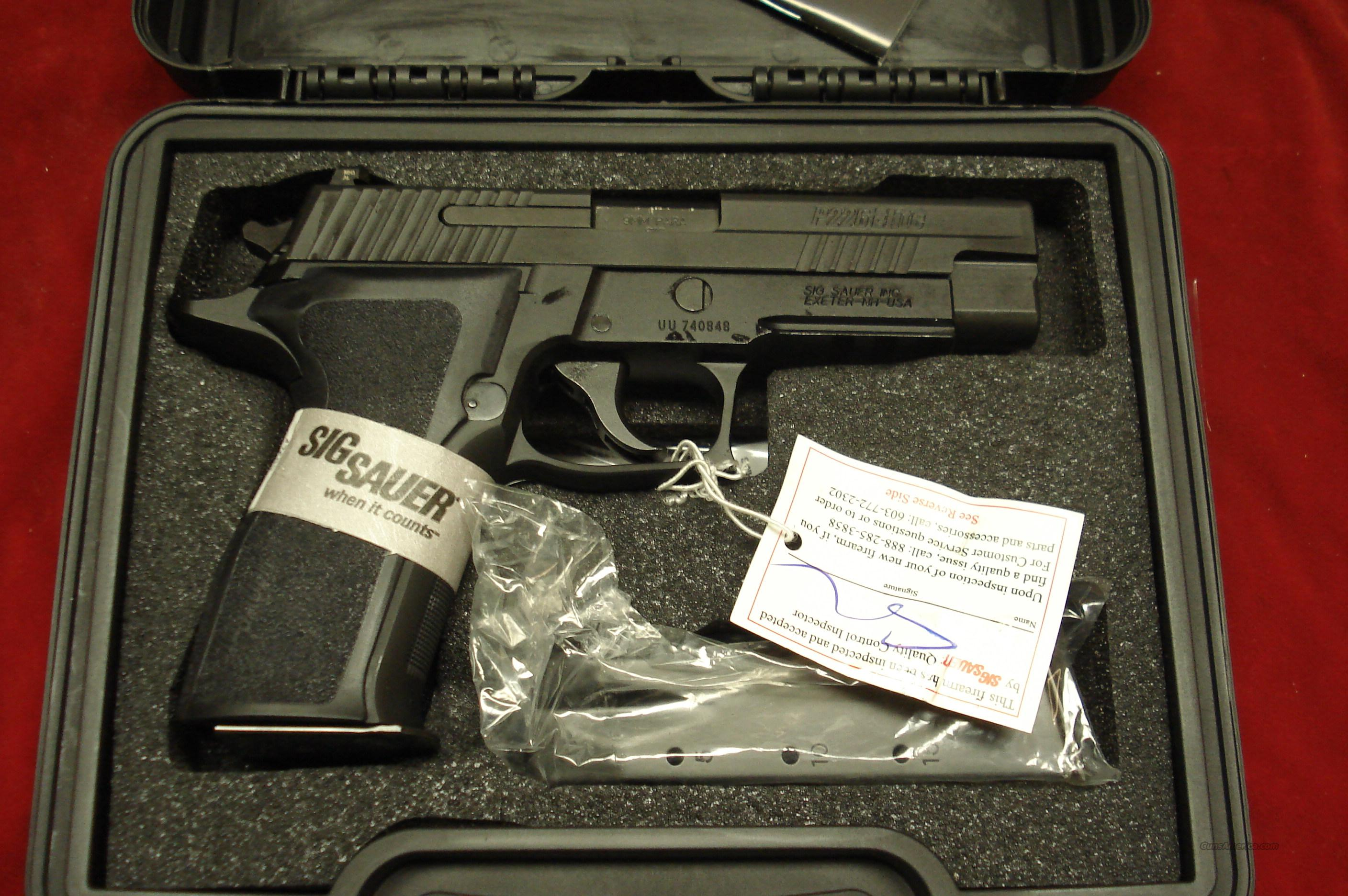 SIG SAUER P226 ENHANCED ELITE 9MM WITH NIGHT SIGHTS NEW  Guns > Pistols > Sig - Sauer/Sigarms Pistols > P226