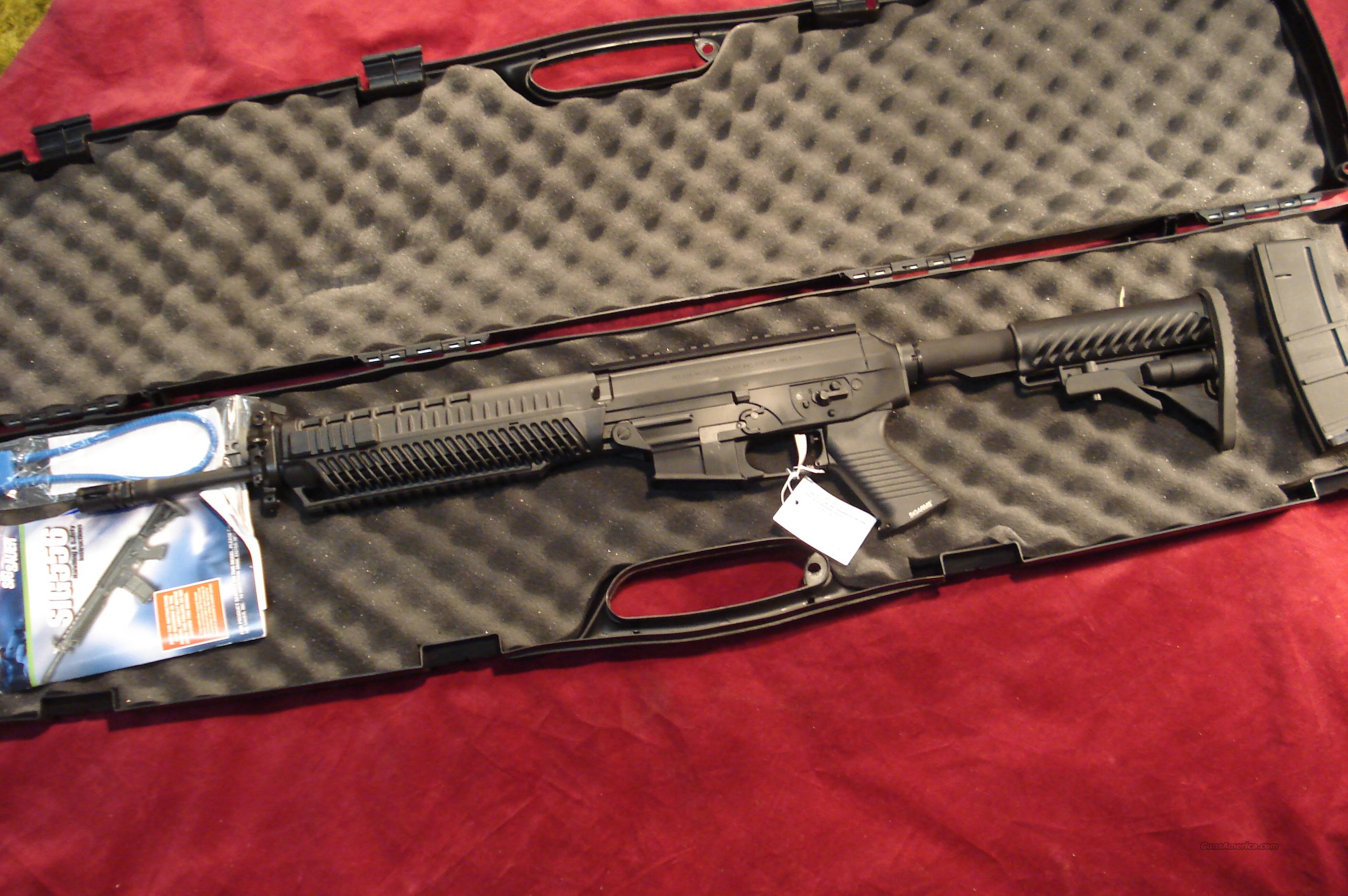 SIG SAUER 556 CARBINE RIFLE W/ FLIP UP SIGHT NEW   Guns > Rifles > Sig - Sauer/Sigarms Rifles
