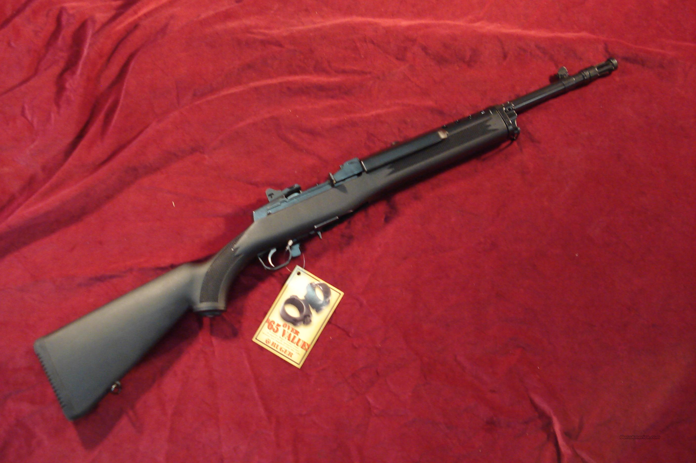 RUGER MINI 30 TACTICAL RIFLE 7.62X39 CAL. NEW (M30/20GBCPC )  Guns > Rifles > Ruger Rifles > Mini-14 Type
