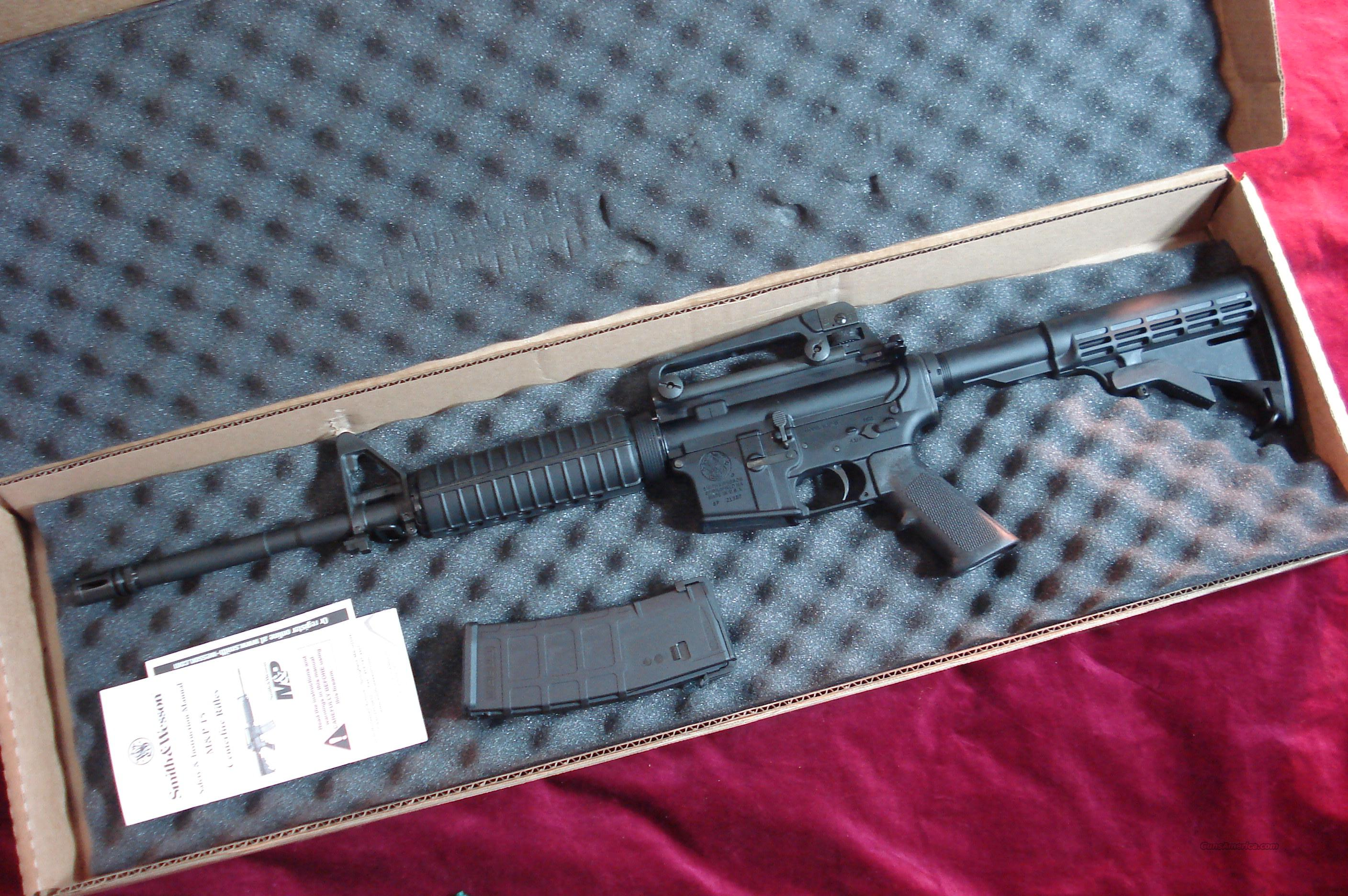SMITH AND WESSON M&P 15 M4A3 5.56/223CAL. NEW   Guns > Rifles > AR-15 Rifles - Small Manufacturers > Complete Rifle