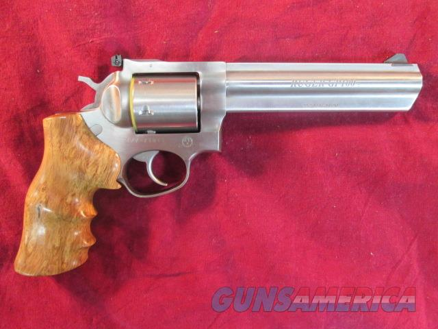 "RUGER GP100 357 MAG 6"" STAINLESS TALO EDITION WOOD GRIPS NEW  Guns > Pistols > Ruger Double Action Revolver > GP100"