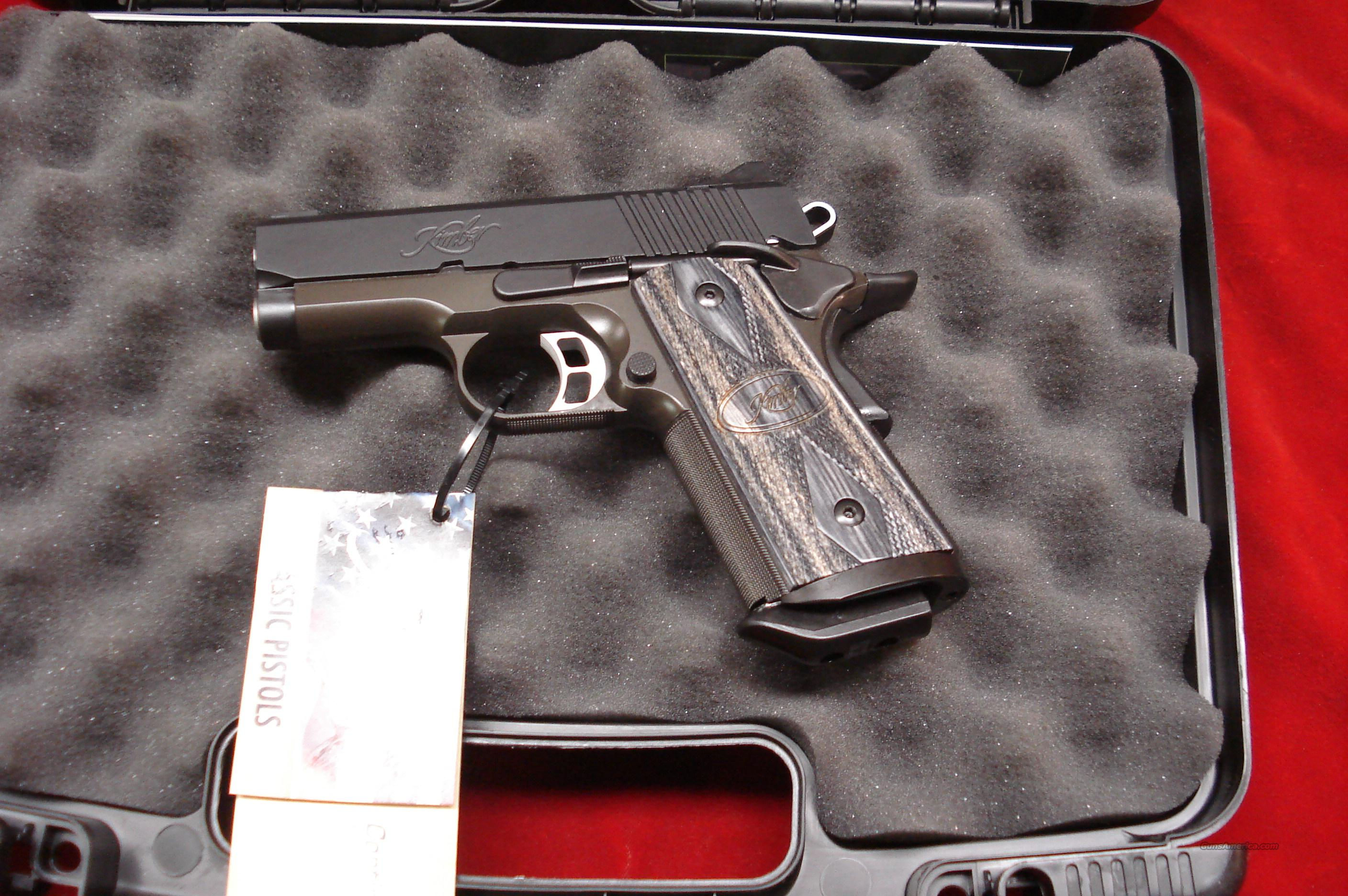 KIMBER TACTICAL ULTRA II 45ACP W/NIGHT SIGHTS NEW  Guns > Pistols > Kimber of America Pistols