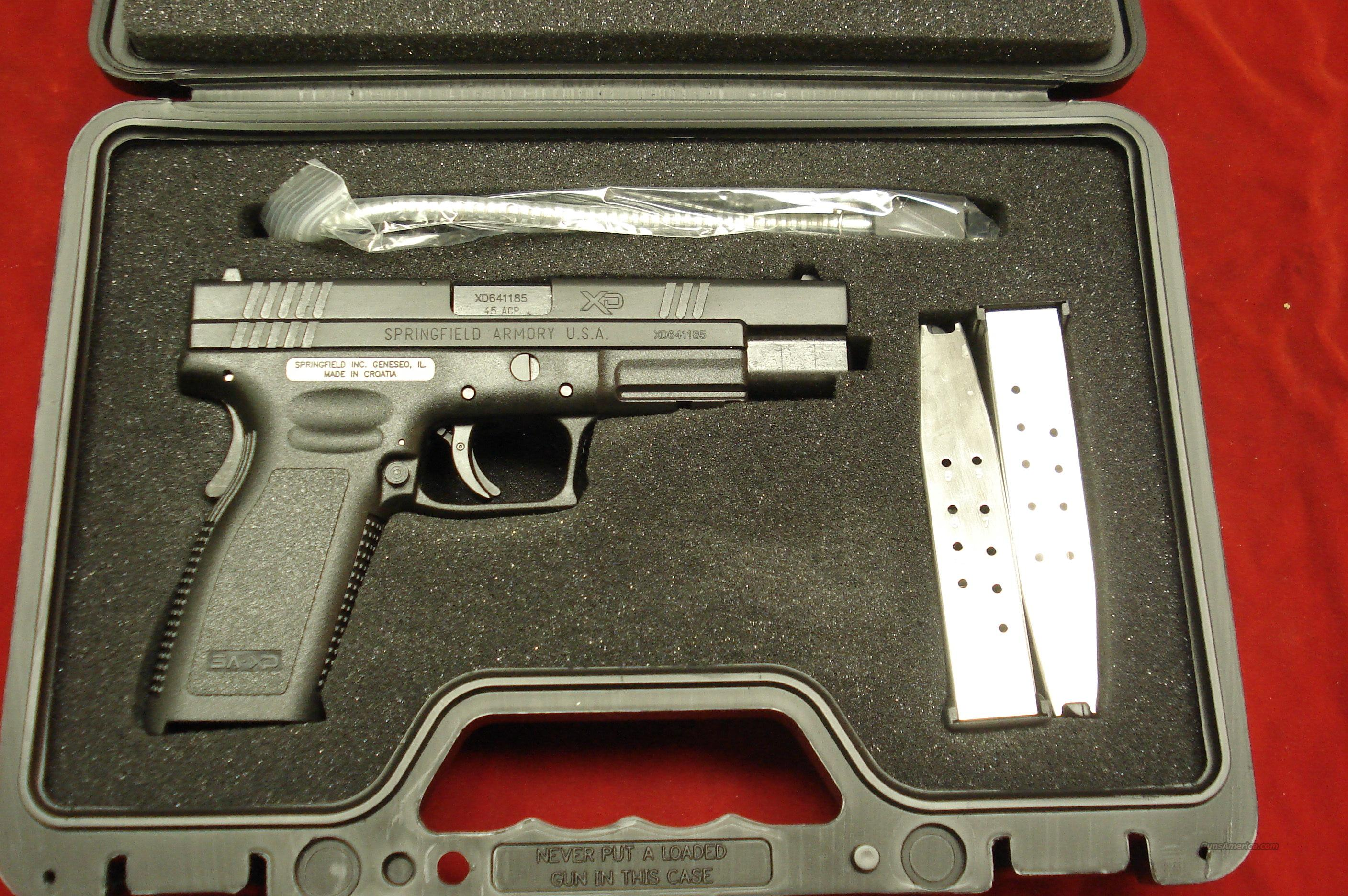 "SPRINGFIELD ARMORY XD TACTICAL 5""  45ACP HIGH CAPACITY PACKAGE NEW   Guns > Pistols > Springfield Armory Pistols > XD (eXtreme Duty)"