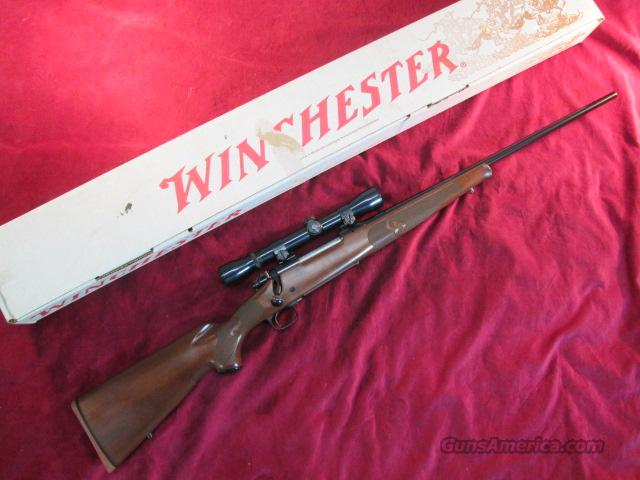 WINCHESTER MODEL 70  FEATHERWEIGHT 257 ROBERTS W/SCOPE USED  Guns > Rifles > Winchester Rifles - Modern Bolt/Auto/Single > Model 70 > Post-64