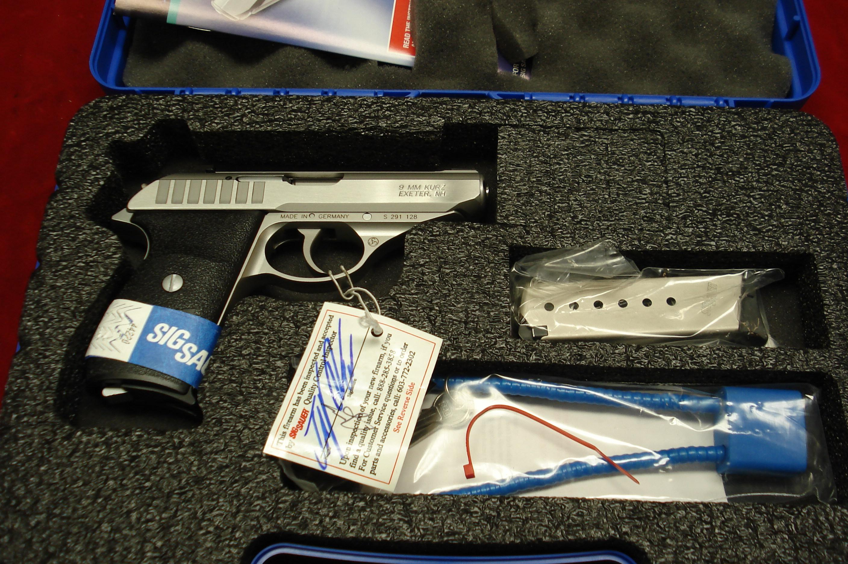 SIG SAUER P232 STAINLESS 380CAL.  NEW  Guns > Pistols > Sig - Sauer/Sigarms Pistols > Other