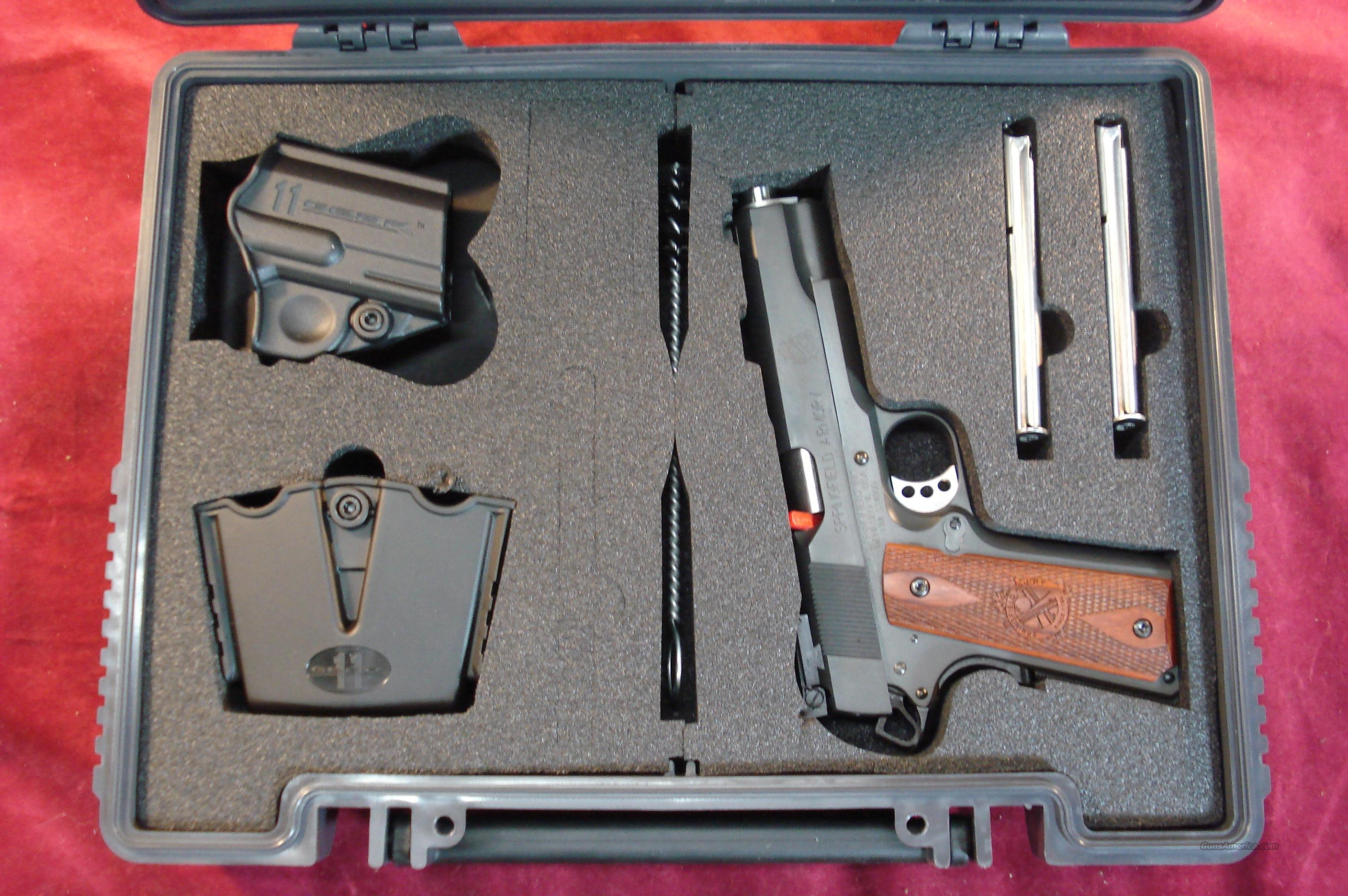 SPRINGFIELD ARMORY 1911 PARKERIZED RANGE OFFICER 9MM NEW  Guns > Pistols > Springfield Armory Pistols > 1911 Type