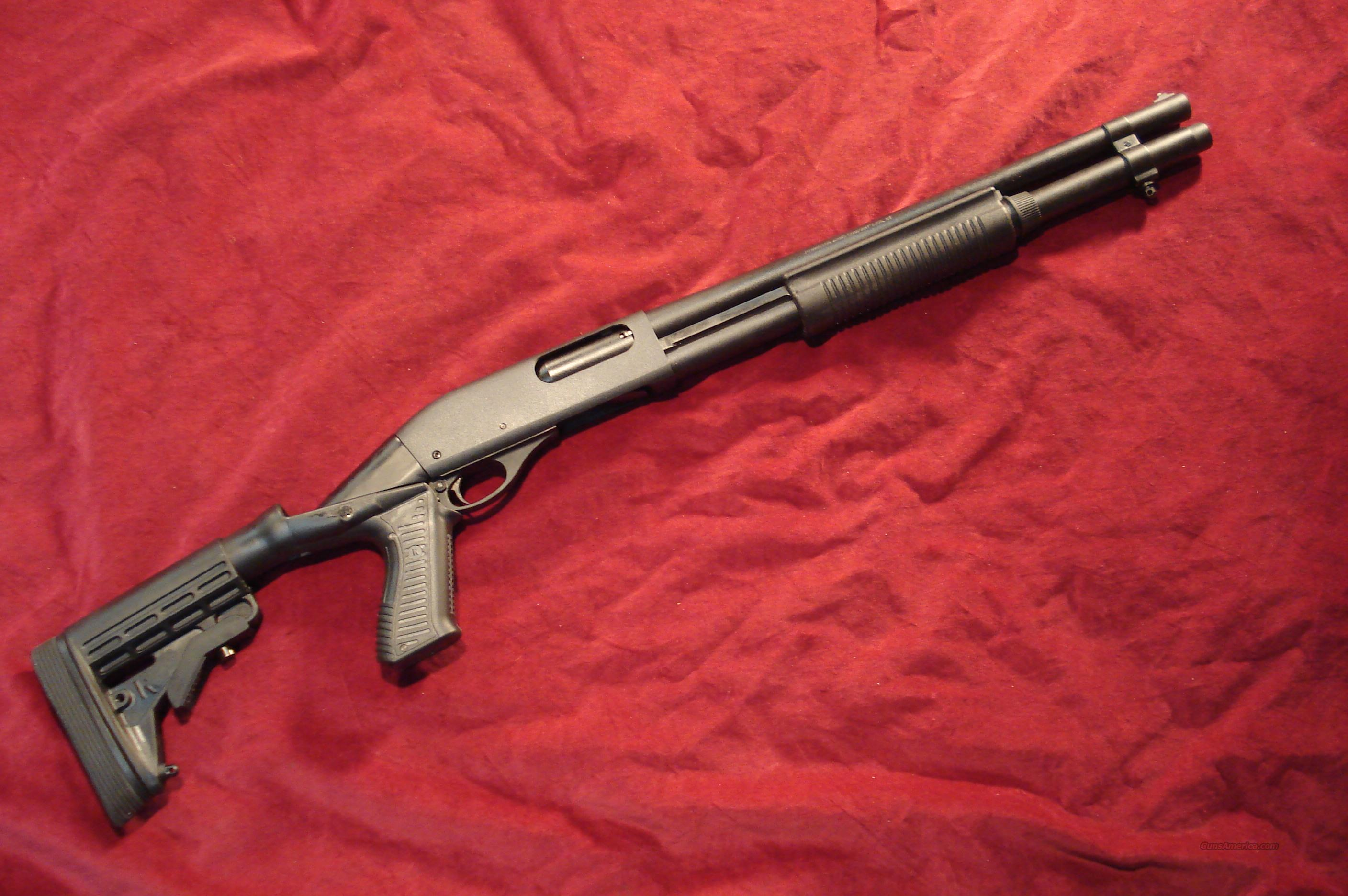 REMINGTON 870 12G TACTICAL MAGNUM W/ SPECIAL OPS (KNOXX COP) COLLAPSABLE STOCK NEW IN THE BOX  Guns > Shotguns > Remington Shotguns  > Pump > Tactical