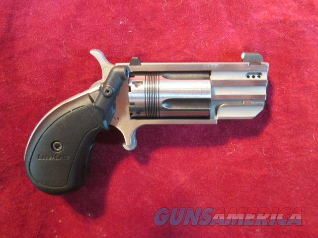 NORTH AMERICAN ARMS PUG 22MAG W/ LASER GRIP AND PORTED BARREL NEW  (NAA-PUG-DPL)    Guns > Pistols > North American Arms Pistols