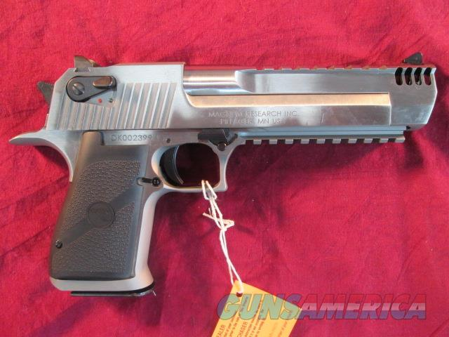 "MAGNUM RESEARCH DESERT EAGLE 50AE CAL 6"" STAINLESS W/ INTEGRAL MUZZLE BREAK NEW  Guns > Pistols > Magnum Research Pistols"
