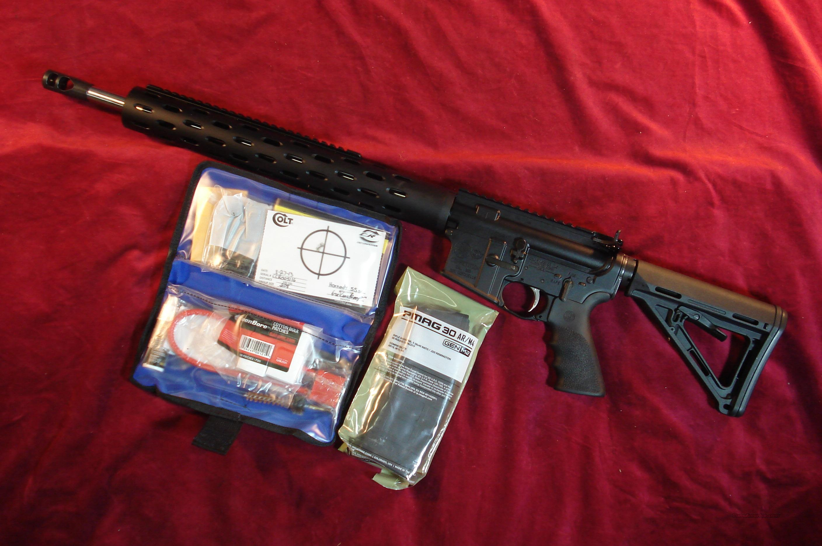 COLT CRE18 EXPERT COMPETITION RIFLE 18' STAINLESS BARREL NEW  Guns > Rifles > Colt Military/Tactical Rifles