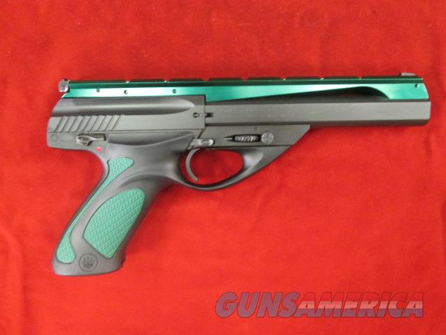 "BERETTA NEOS 22LR 6"" BARREL W/ GREEN RAIL AND GRIP USED  Guns > Pistols > Beretta Pistols > Polymer Frame"