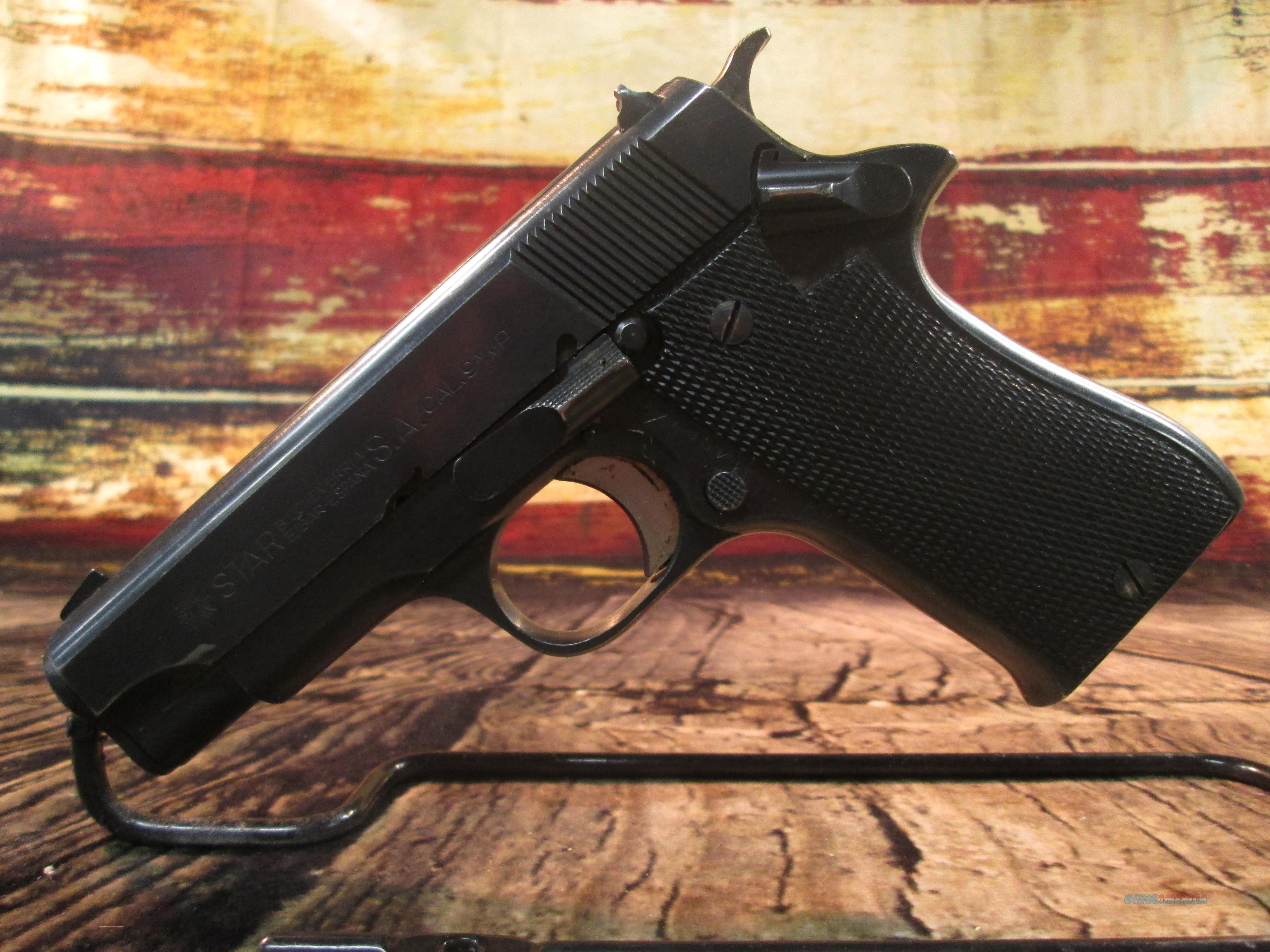 CENTURY ARMS STAR BM 9MM New (HG3764-V)  Guns > Pistols > Star Pistols
