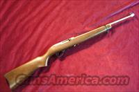 RUGER 10/22 STAINLESS W/WOOD STOCK NEW (K10/22RB)  Guns > Rifles > Ruger Rifles > 10-22
