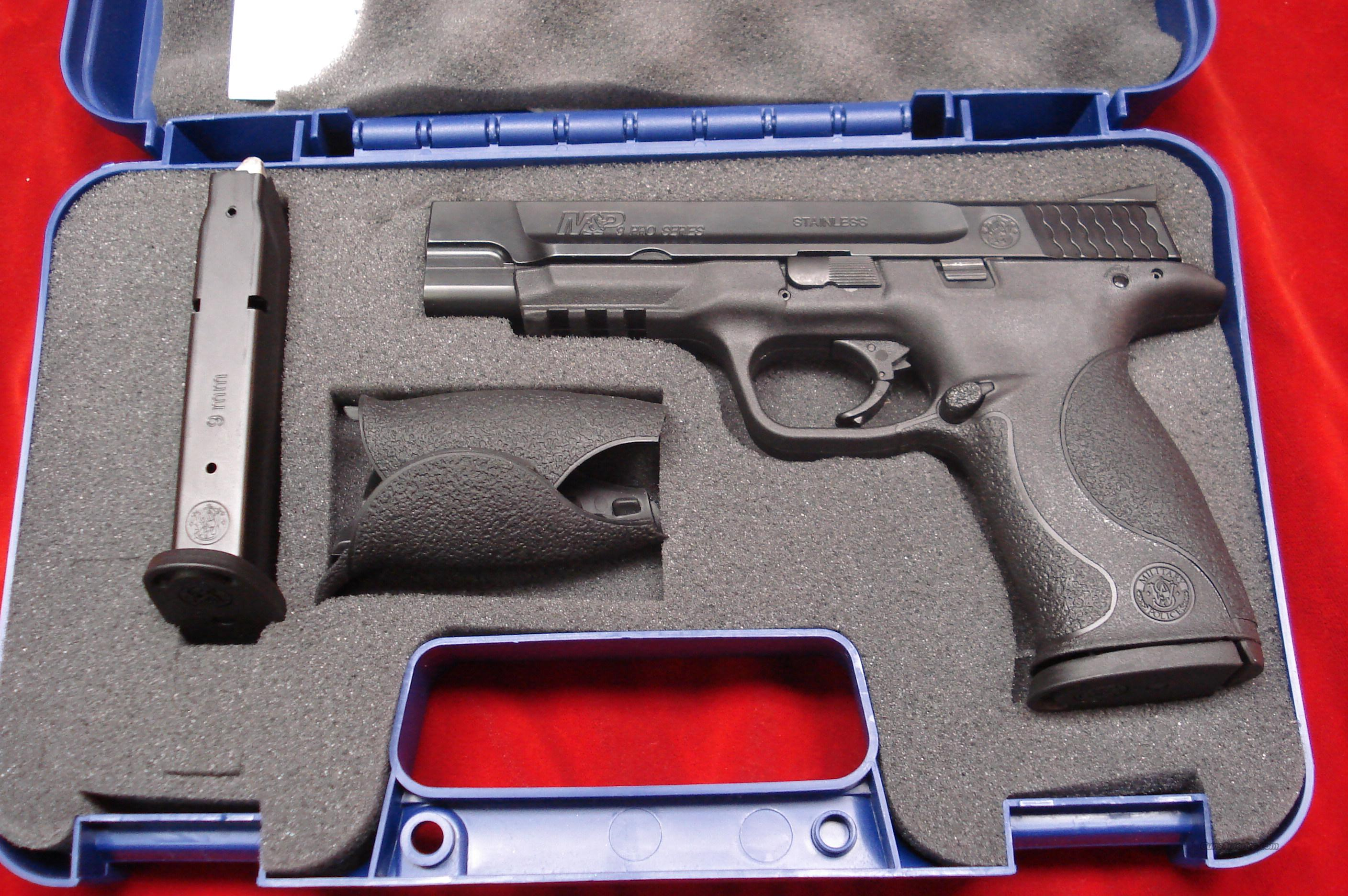 SMITH AND WESSON M&P PRO SERIES 9MM HIGH/CAP LNIB   Guns > Pistols > Smith & Wesson Pistols - Autos > Polymer Frame