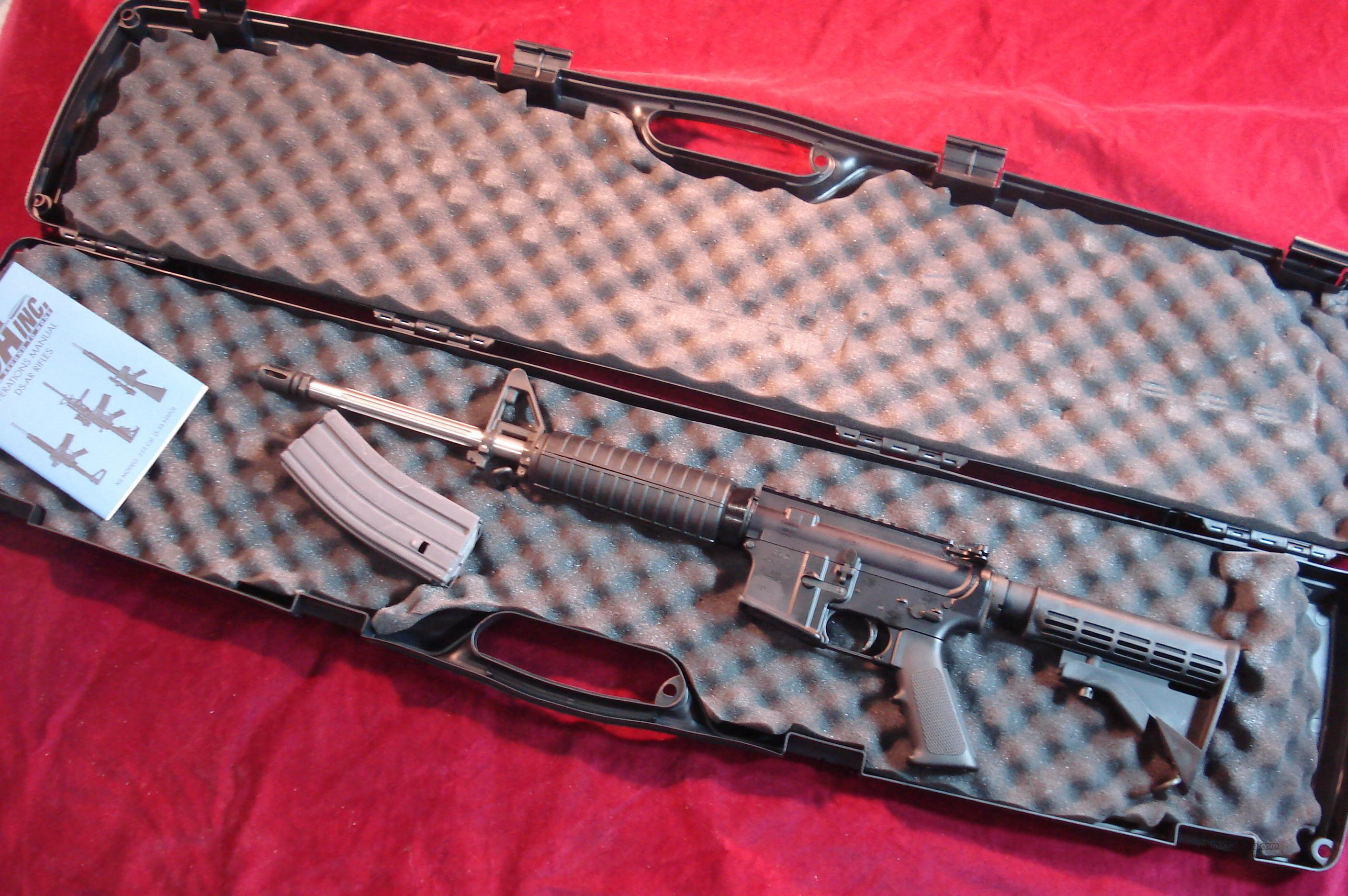 DSA ARMS AR15 FLATTOP 5.56CAL. FLUTTED STAINLESS BRL. NEW   Guns > Rifles > DSA Rifles (DS Arms) > AR-15 type