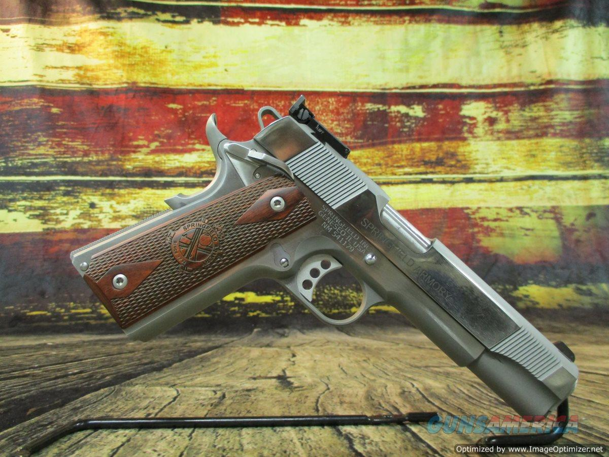 "Springfield Armory PI9132LCA 1911 Target 45 acp 5"" Stainless Used (67609)  Guns > Pistols > Springfield Armory Pistols > 1911 Type"