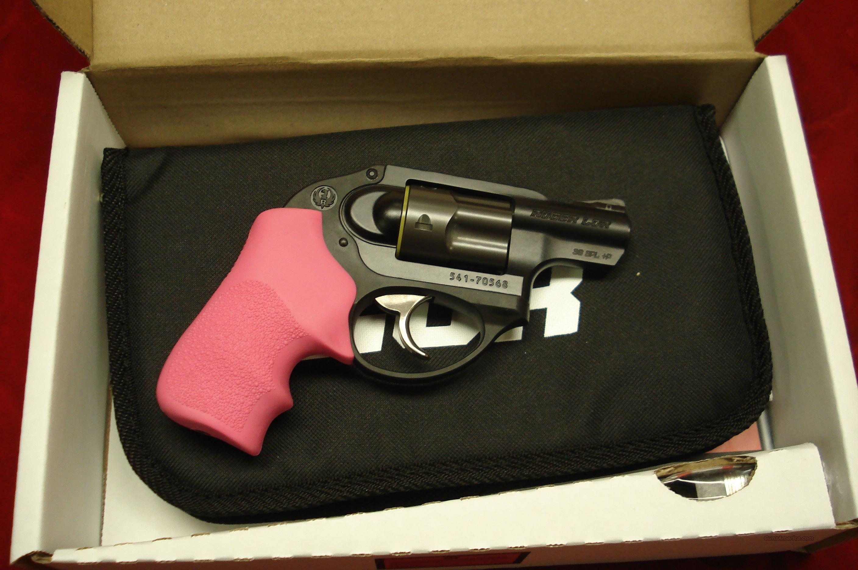 RUGER LCR W/PINK GRIPS 38SPL.+P NEW   Guns > Pistols > Ruger Double Action Revolver > SP101 Type