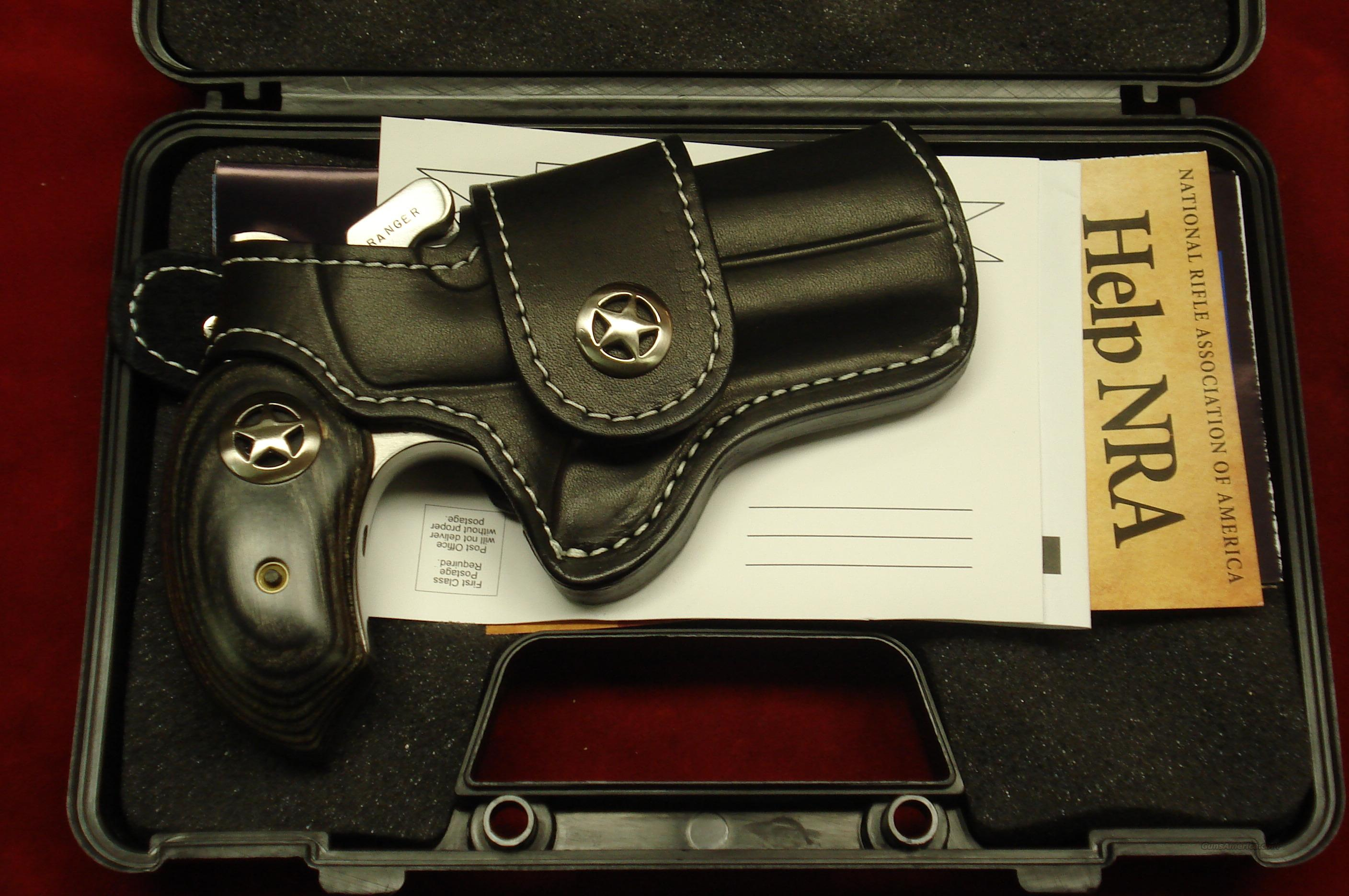 BOND ARMS RANGER 45COLT/410G STAINLESS DERRINGER WITH HOLSTER NEW  Guns > Pistols > Bond Derringers