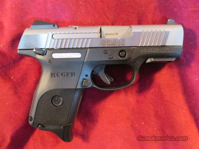 RUGER SR9C (COMPACT) STAINLESS NEW W/ 3 MAGS NEW  Guns > Pistols > Ruger Semi-Auto Pistols > LC9