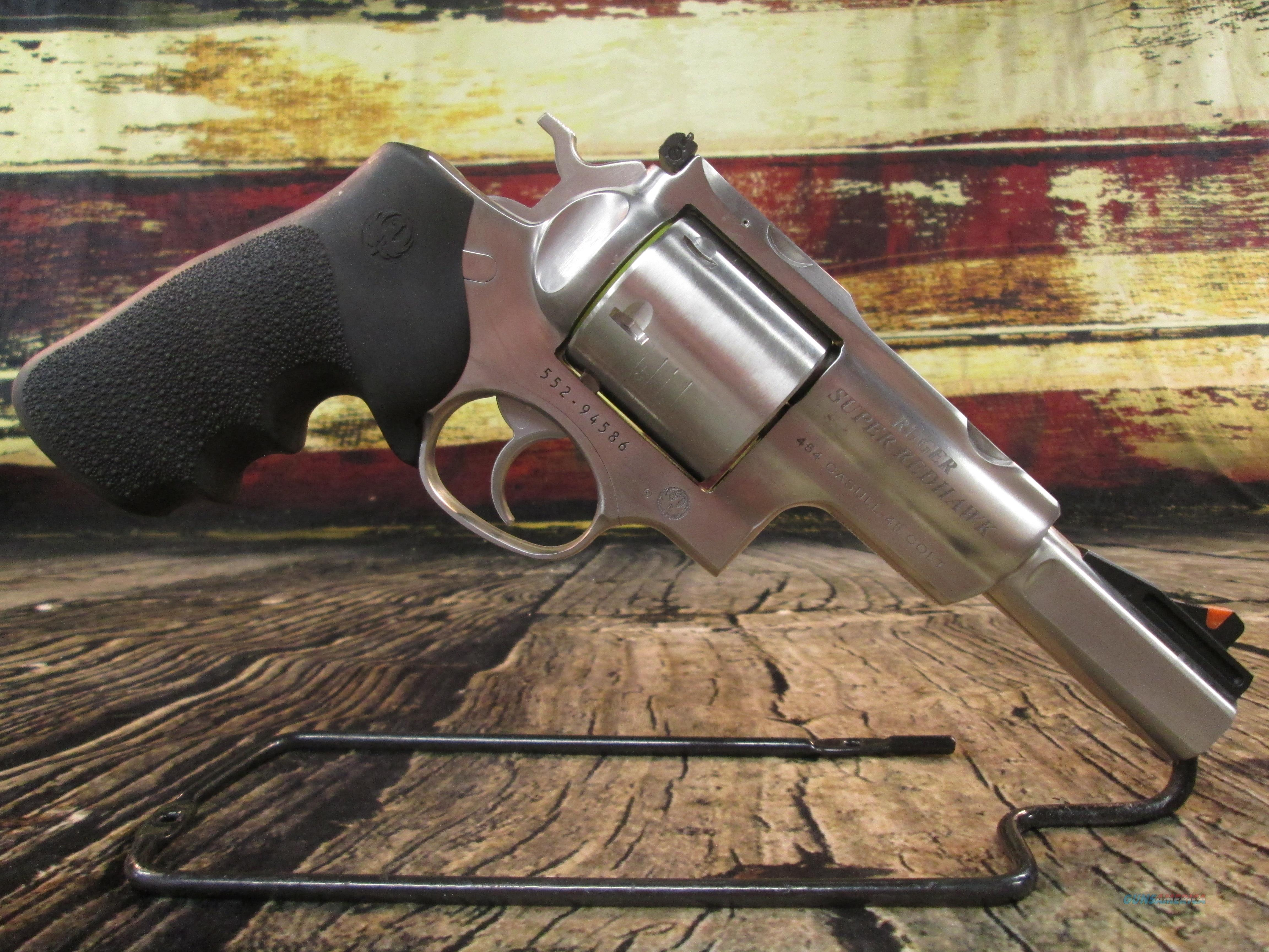 """Ruger Super Redhawk Alaskan 454 Casull/ 45 LC Stainless 5"""" (05517)  Guns > Pistols > Ruger Double Action Revolver > Redhawk Type"""