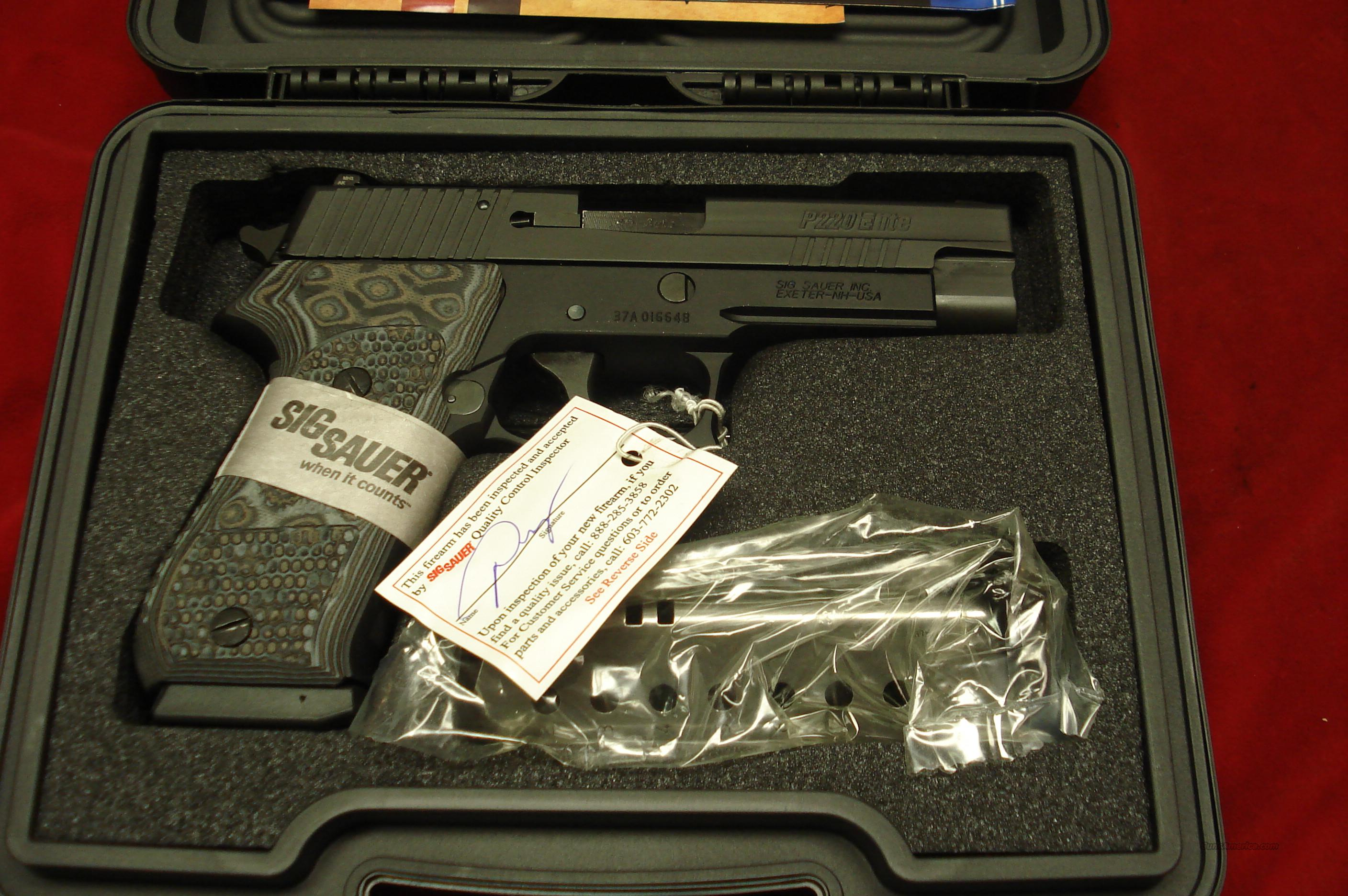 SIG SAUER P220 EXTREME 45ACP. W/NIGHT SIGHTS NEW   Guns > Pistols > Sig - Sauer/Sigarms Pistols > P220