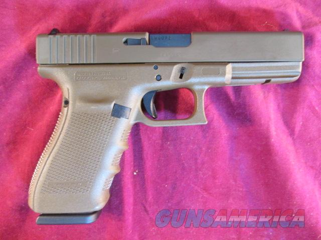 GLOCK 21 GEN 4 .45CAL FLAT DARK EARTH HIGH CAPACITY NEW  Guns > Pistols > Glock Pistols > 20/21
