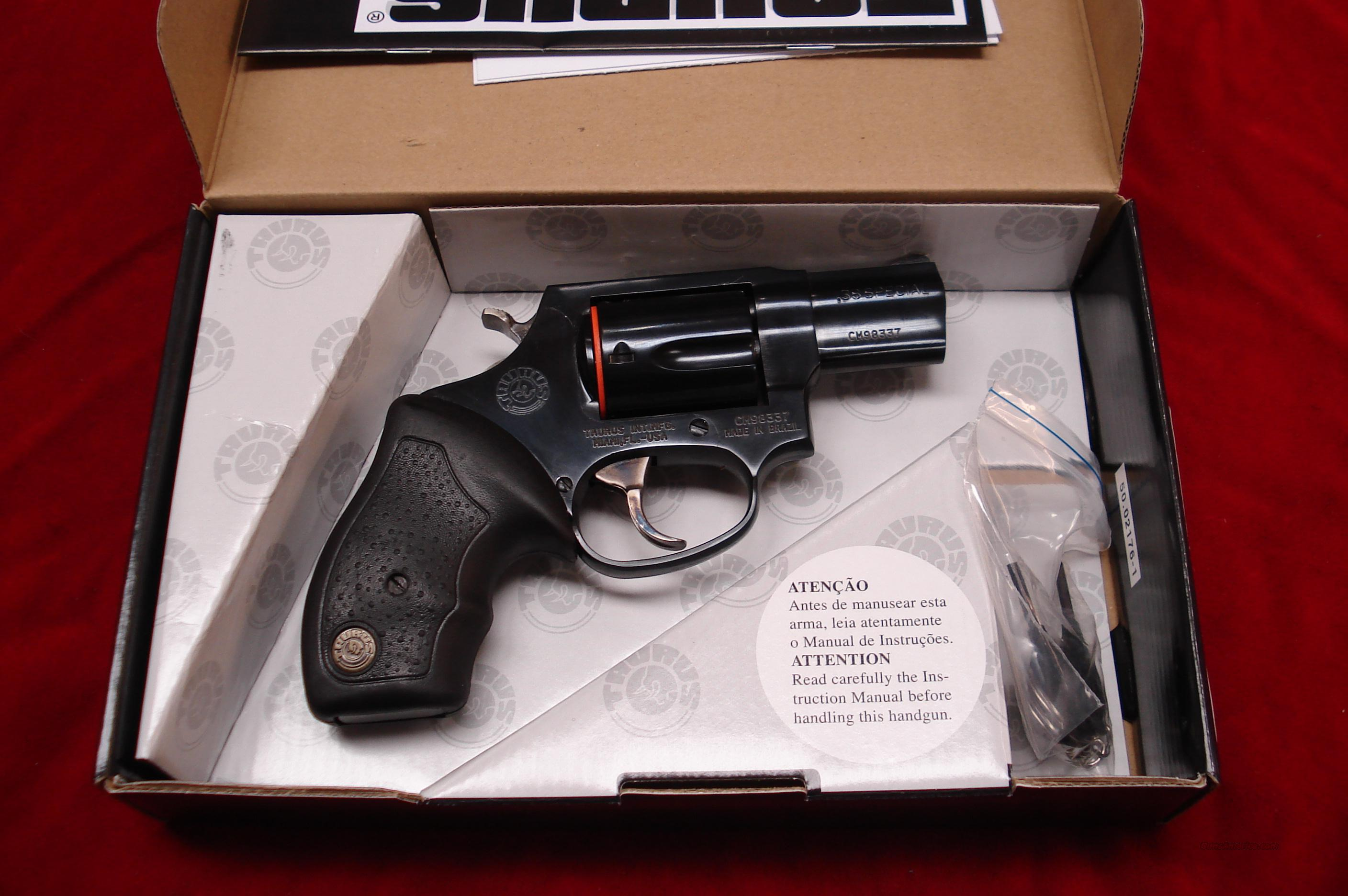 TAURUS MODEL 85 BLUE 38SPL NEW {{ SALE PRICE }}  Guns > Pistols > Taurus Pistols/Revolvers > Revolvers