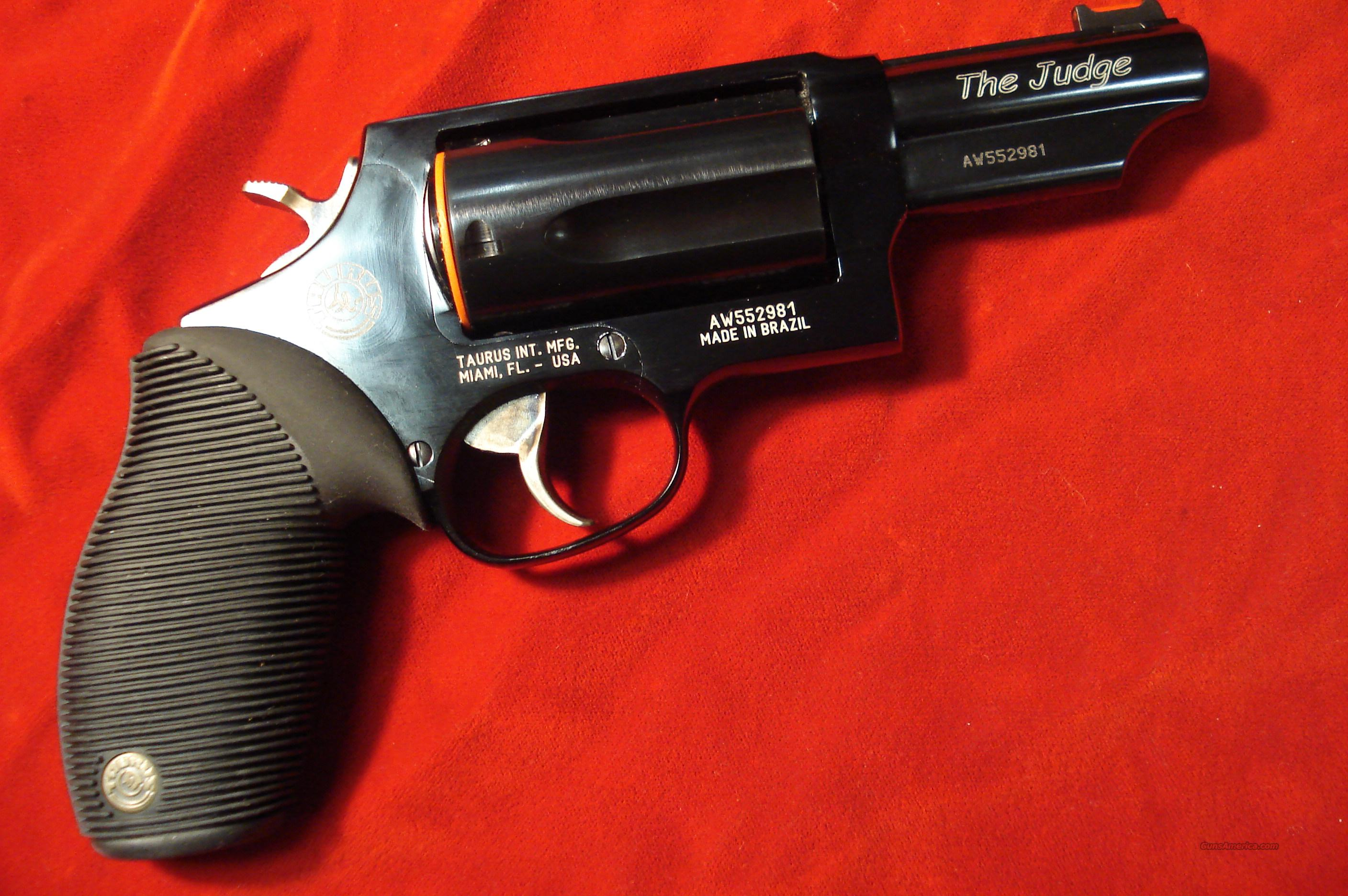 "TAURUS 4510  3"" BLUE ULTRA-LITE  410G REVOLVER ""THE JUDGE"" NEW  Guns > Pistols > Taurus Pistols/Revolvers > Revolvers"