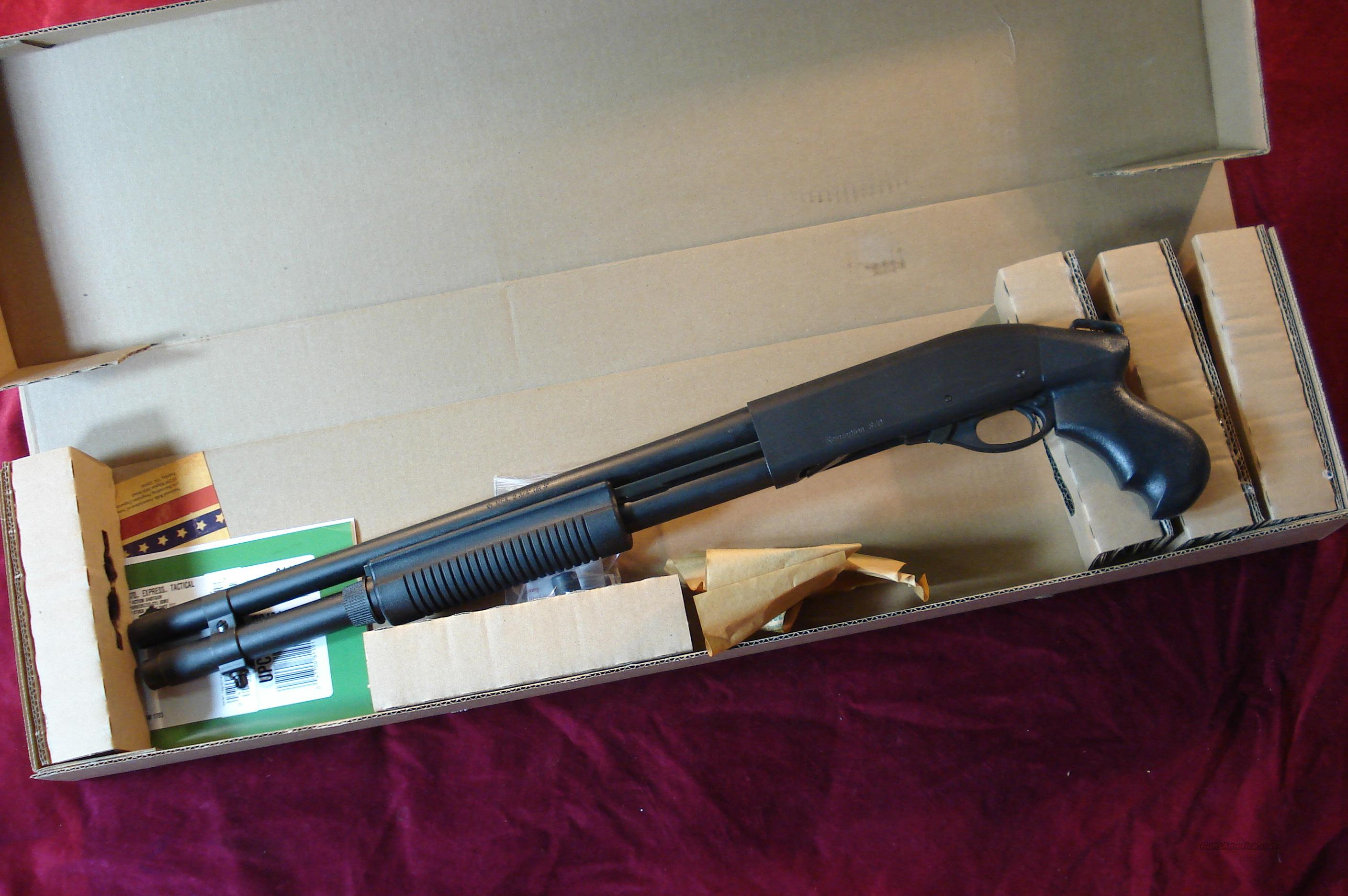 "REMINGTON 870 HD (HOME DEFENSE) PISTOL GRIP 12G PUMP SHOTGUN 18.5"" BARREL,  FACTORY MAG EXTENSION 7-SHOT MAGAZINE NEW  Guns > Shotguns > Remington Shotguns  > Pump > Tactical"